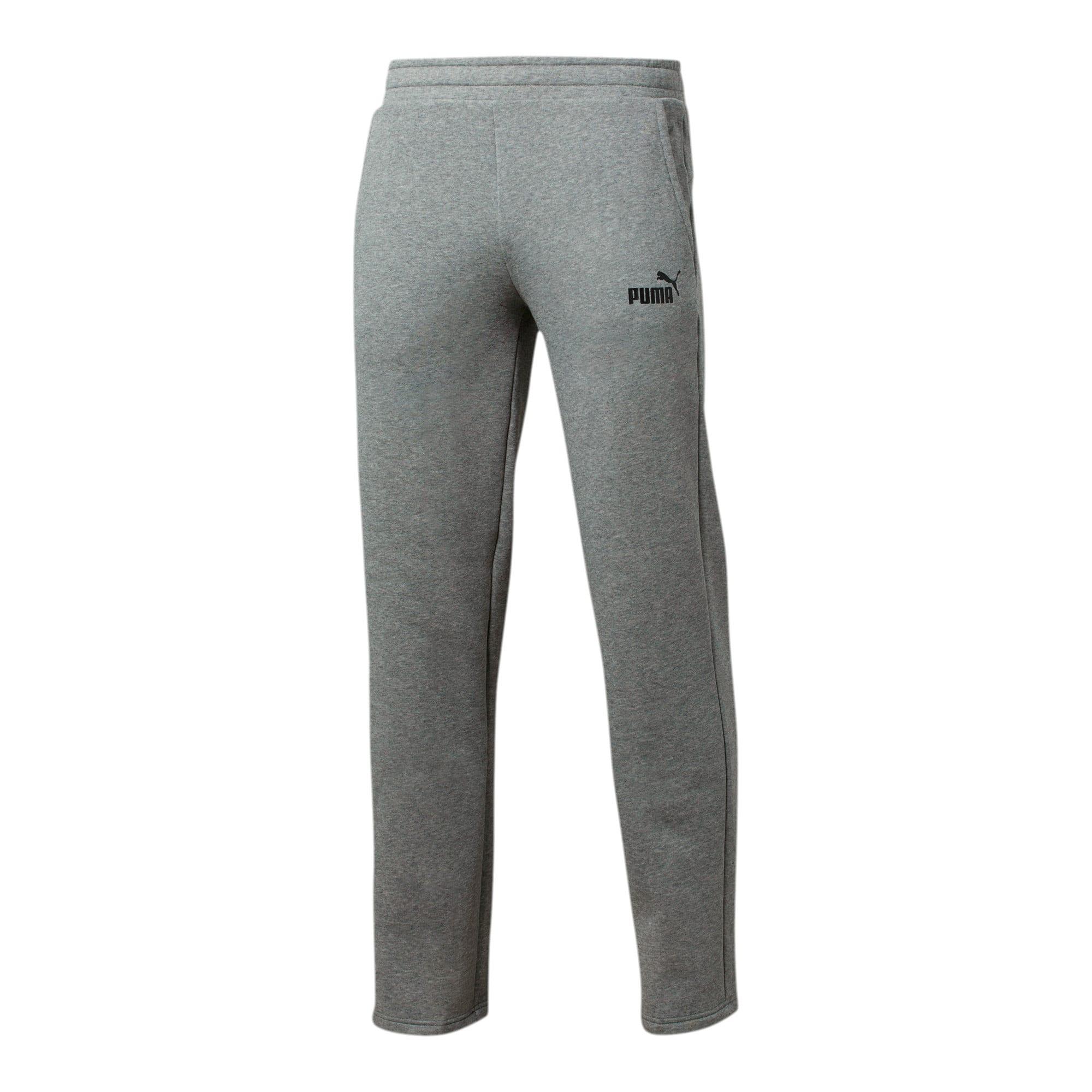 Thumbnail 1 of Essentials Men's Fleece Pants, Medium Gray Heather, medium