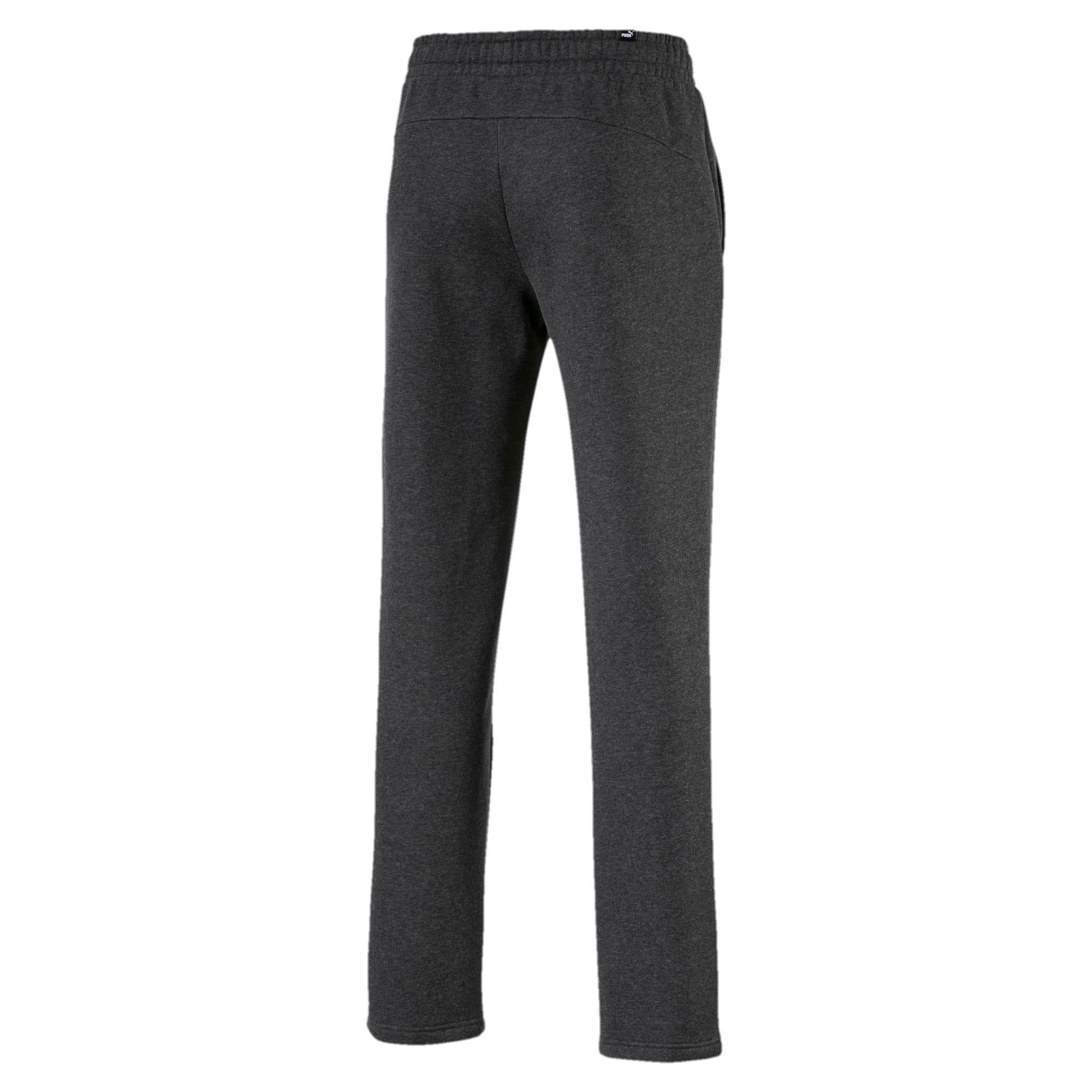 Thumbnail 5 of Essentials Men's Fleece Pants, Dark Gray Heather, medium