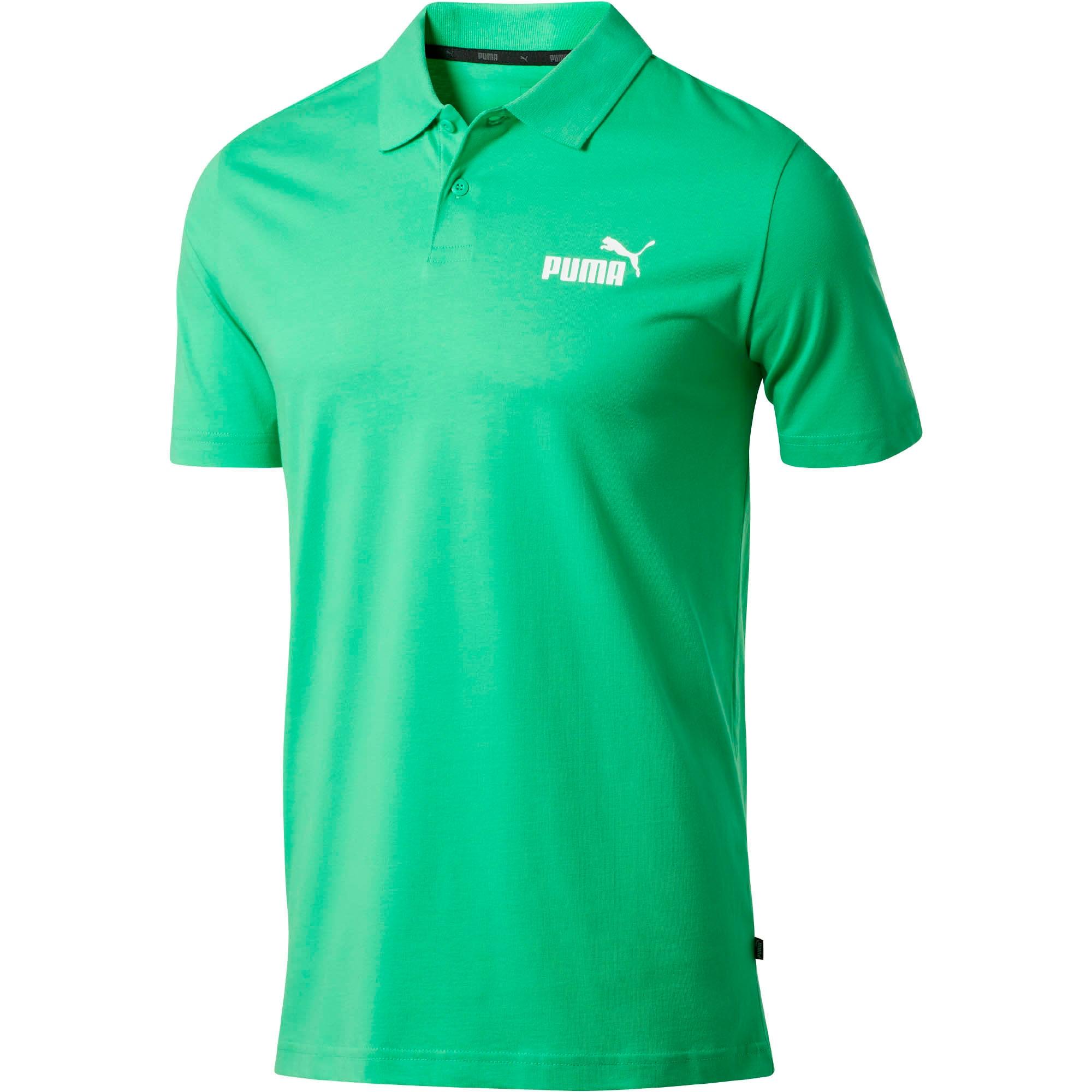 Thumbnail 1 of Essentials Men's Jersey Polo, Irish Green, medium