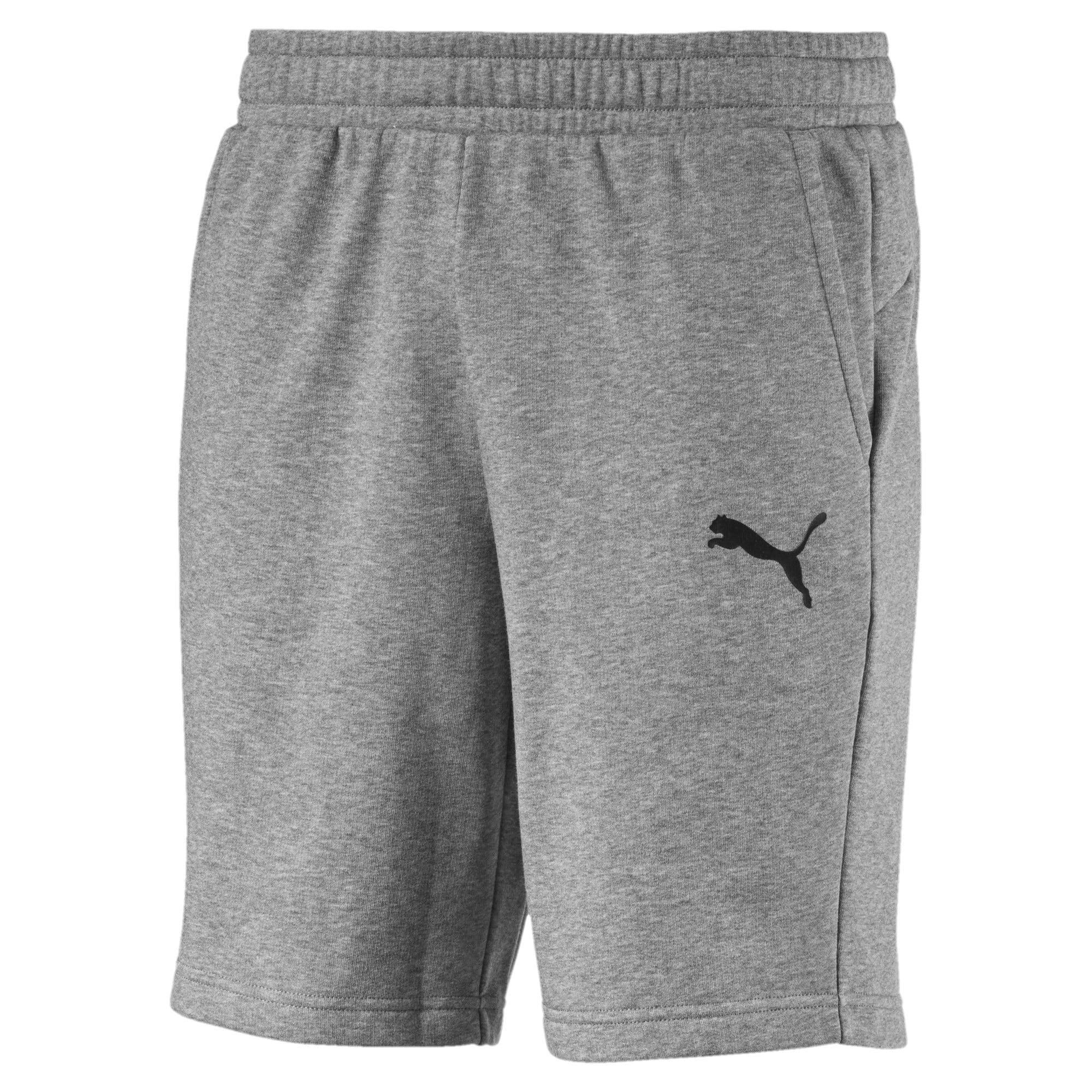 Miniatura 1 de Shorts deportivos Essentials para hombre, Medium Gray Heather-Cat, mediano