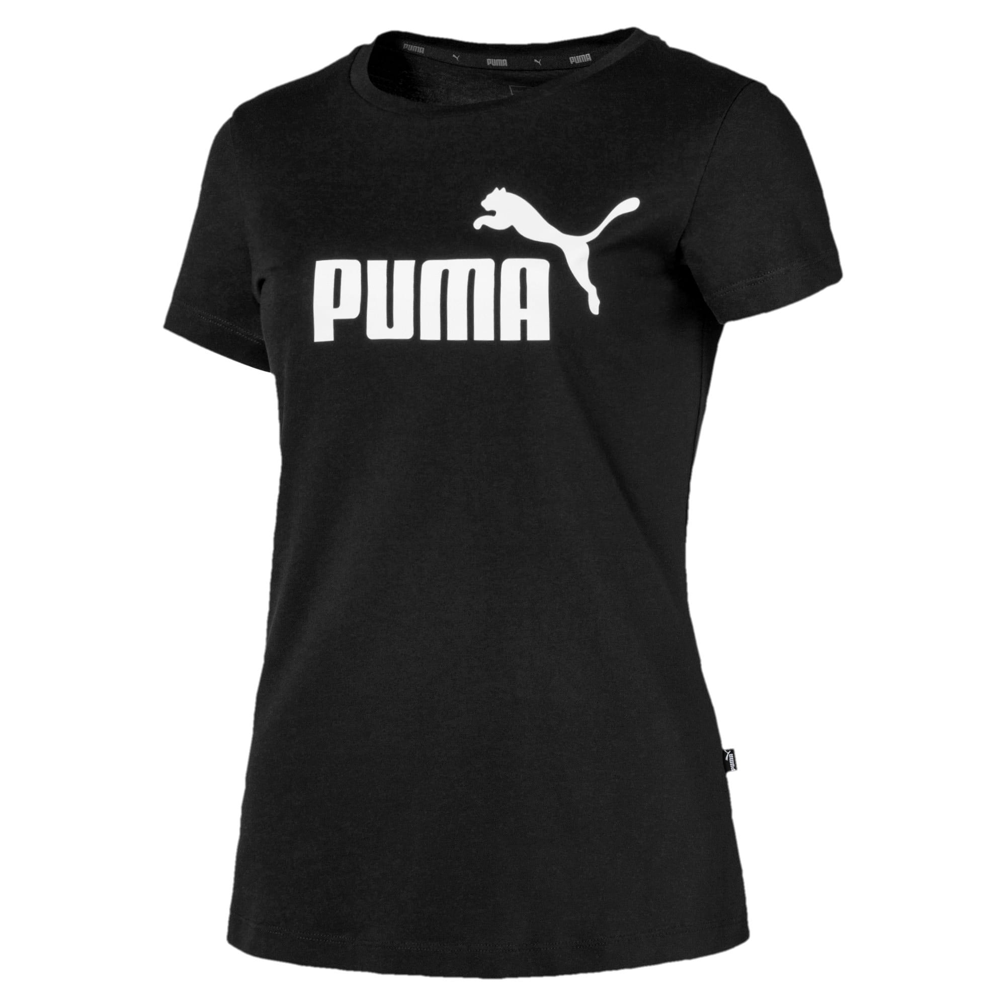 Thumbnail 4 of Essentials Damen T-Shirt, Cotton Black, medium