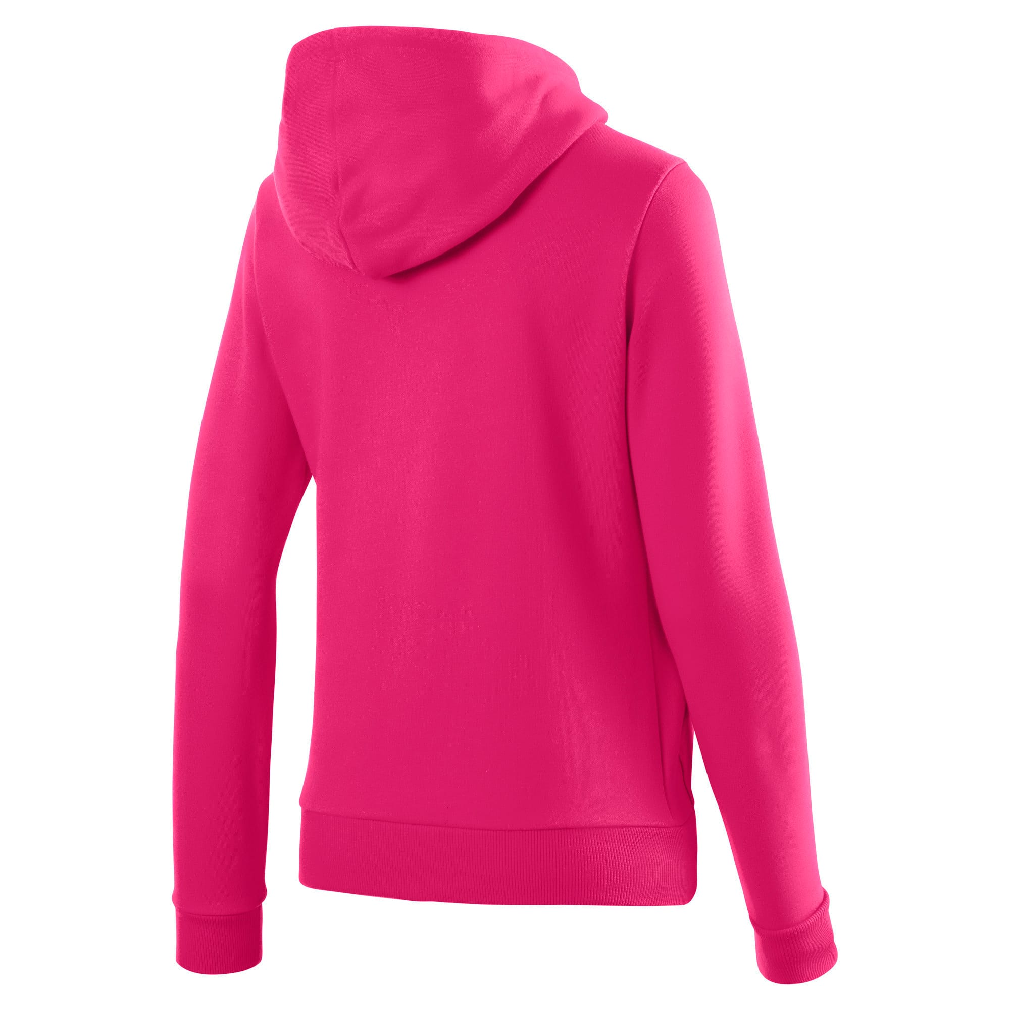 Thumbnail 5 of Essentials Damen Fleece Hoodie, Beetroot Purple, medium