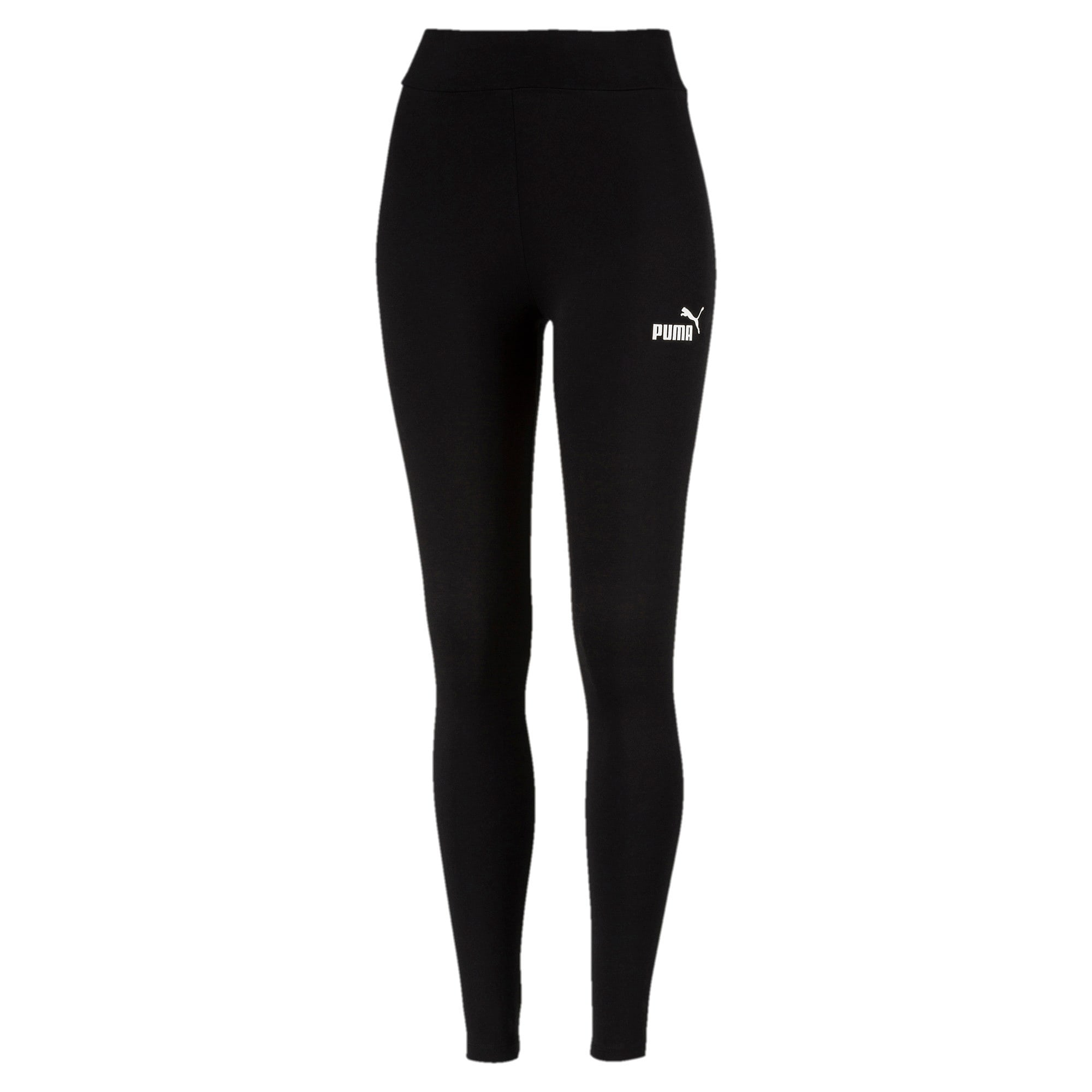 Thumbnail 1 of Essentials Damen Leggings, Cotton Black, medium