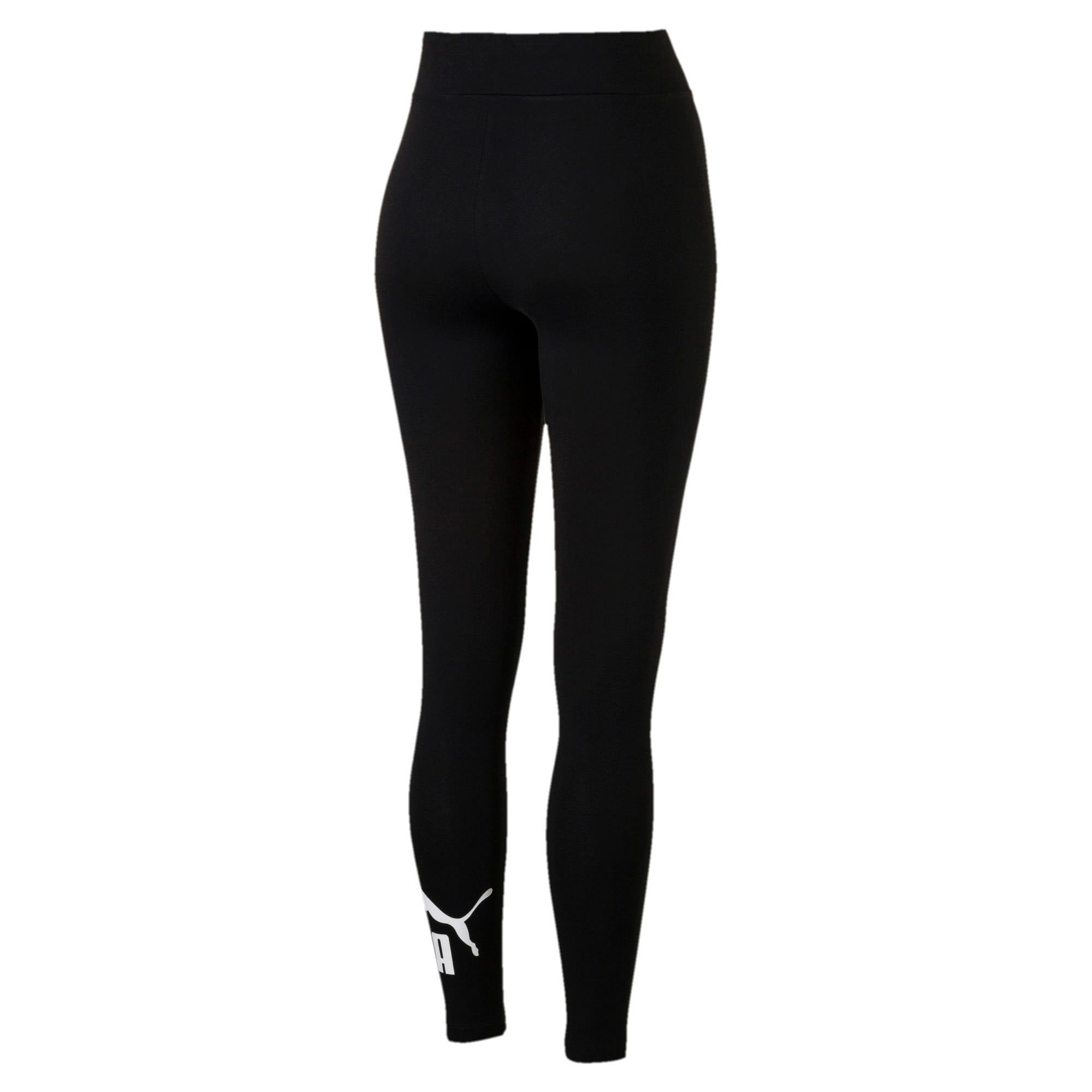 Thumbnail 5 of Women's Essentials Logo Leggings, Cotton Black, medium