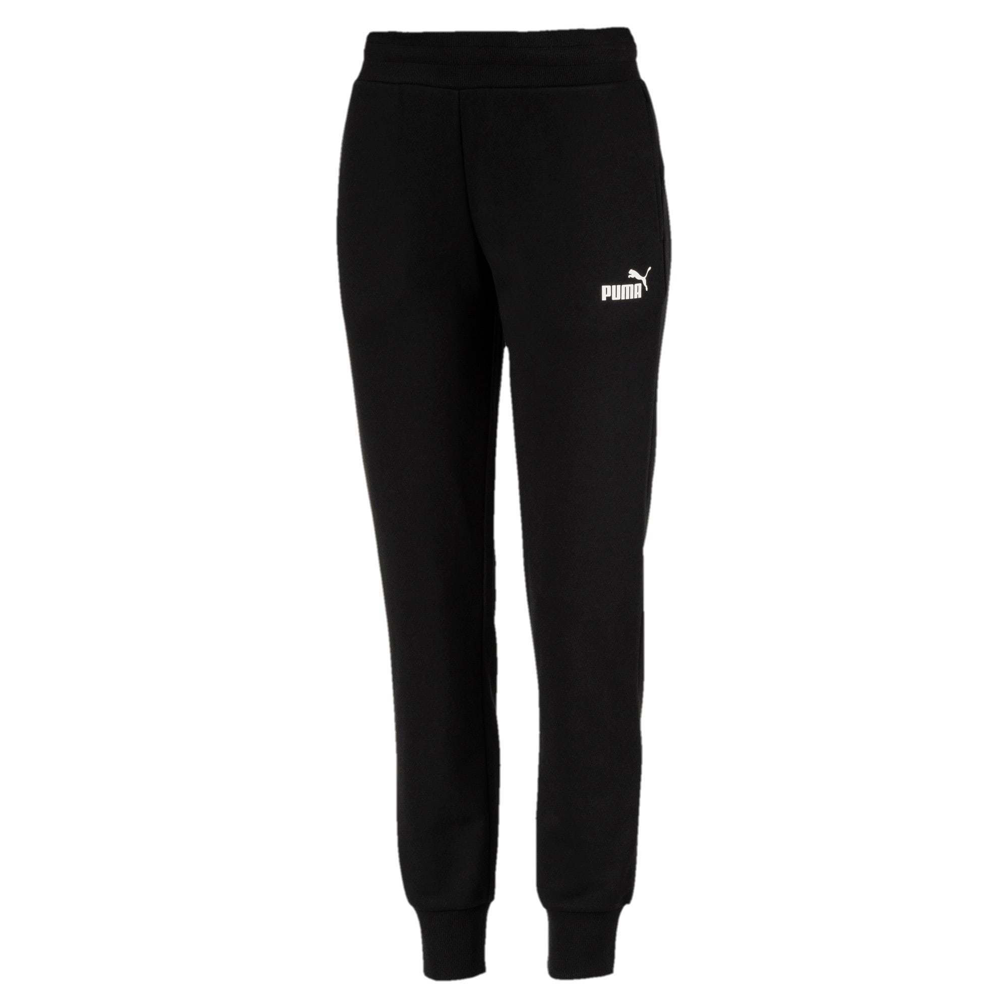 Thumbnail 2 of Essentials Women's Sweatpants, Cotton Black, medium
