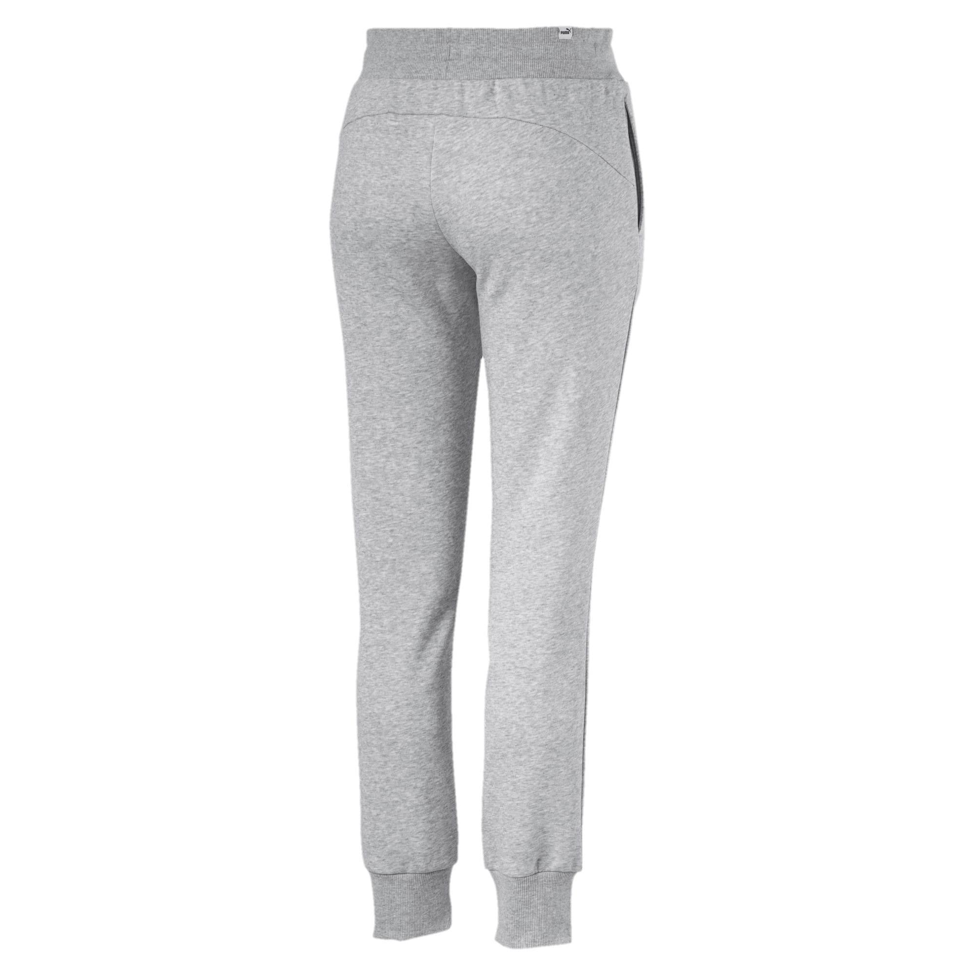 Thumbnail 5 of Essentials Fleece Women's Pants, Light Gray Heather, medium