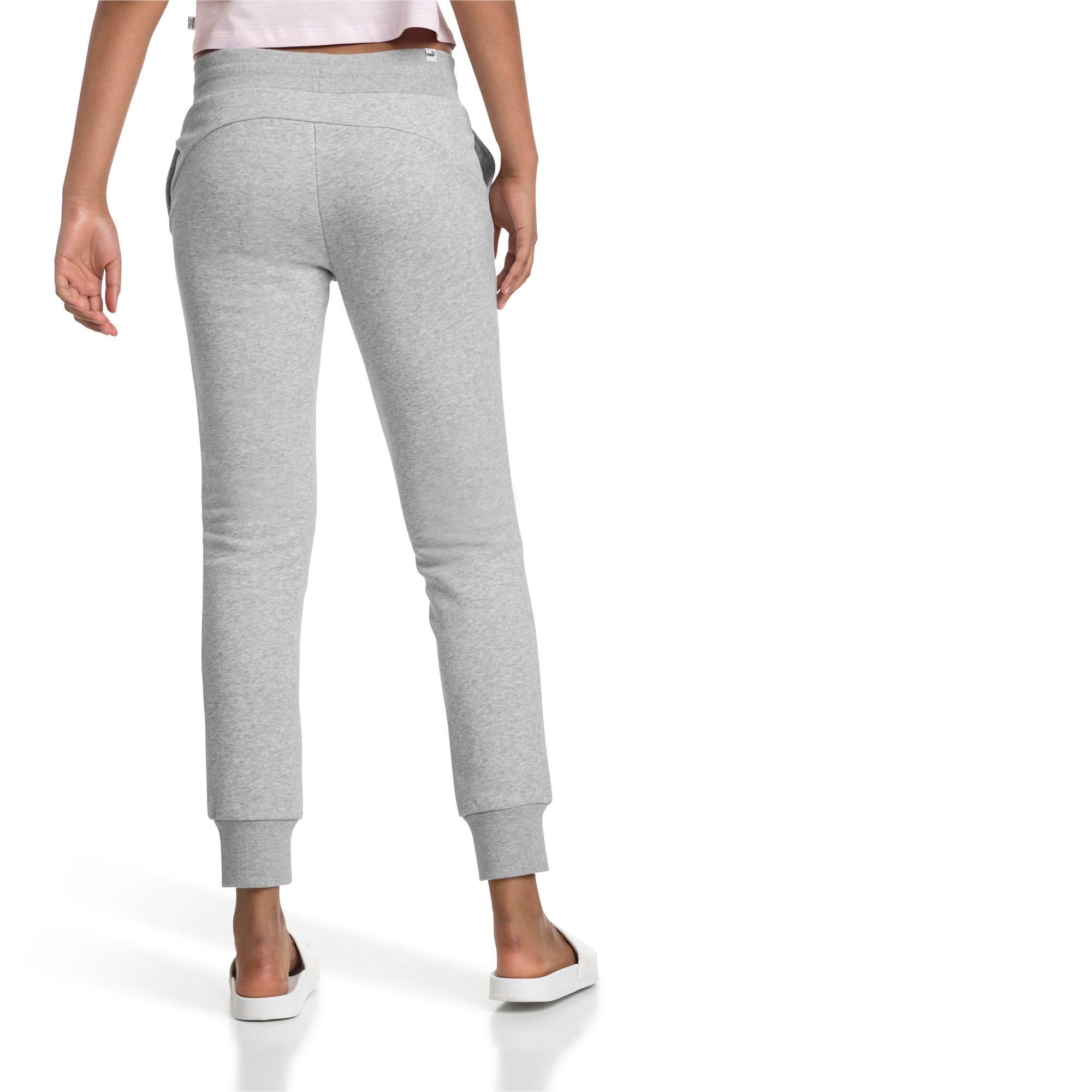 Thumbnail 2 of Essentials Fleece Women's Pants, Light Gray Heather, medium