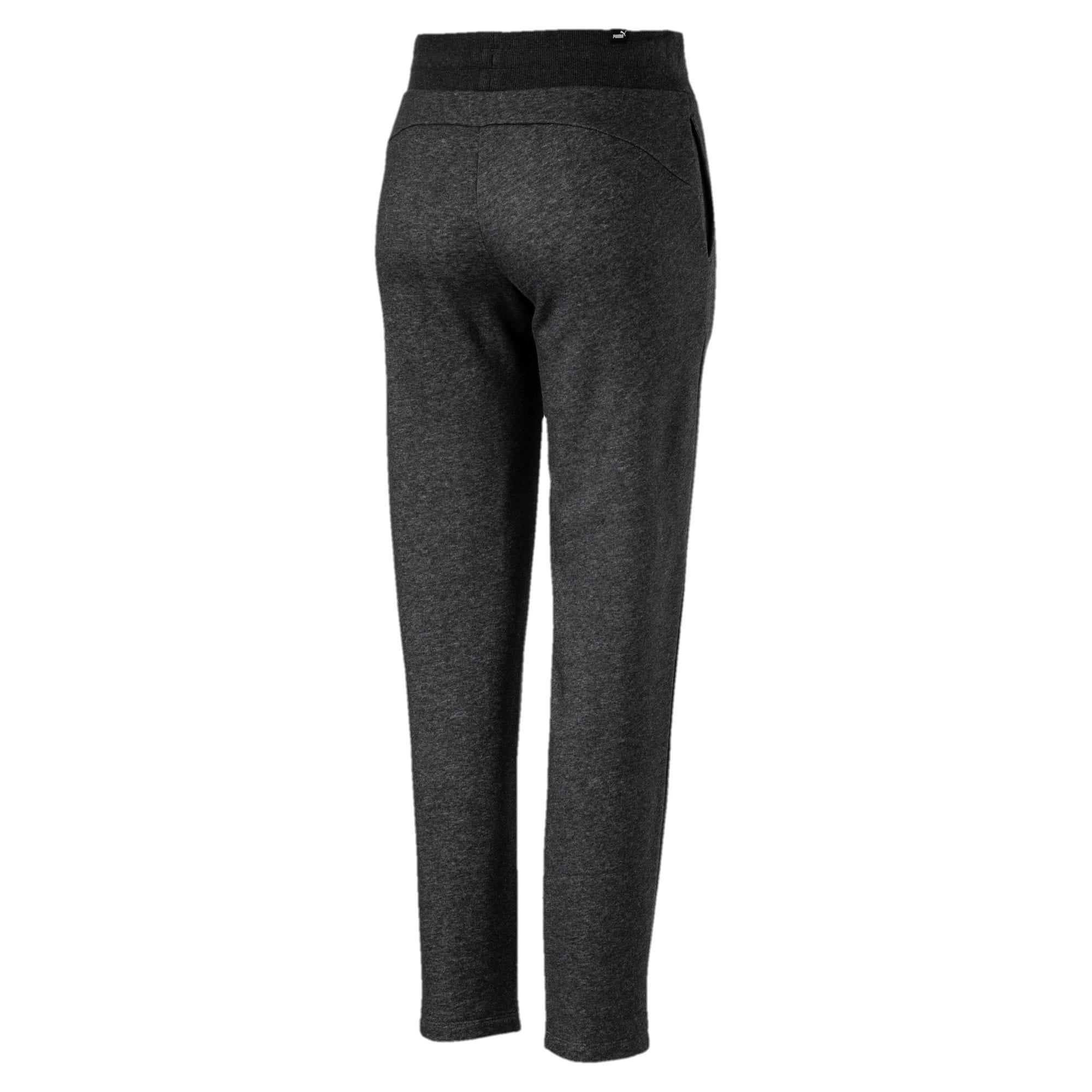 Thumbnail 2 of Essentials Fleece Women's Knitted Pants, Dark Gray Heather, medium
