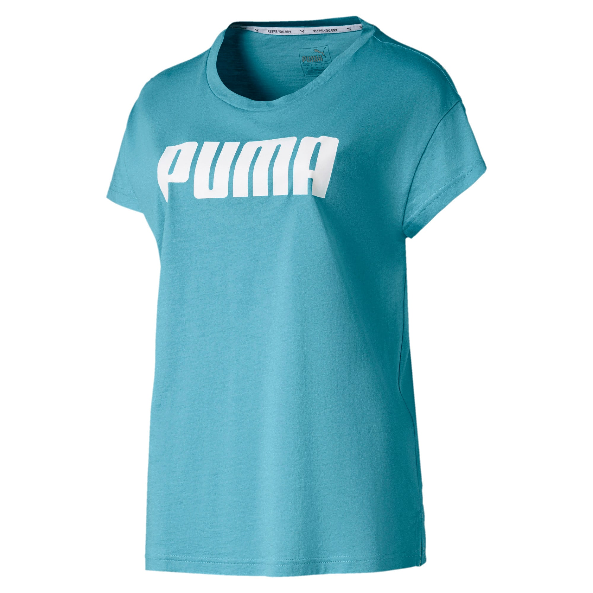 Thumbnail 4 of Active Damen T-Shirt, Milky Blue, medium