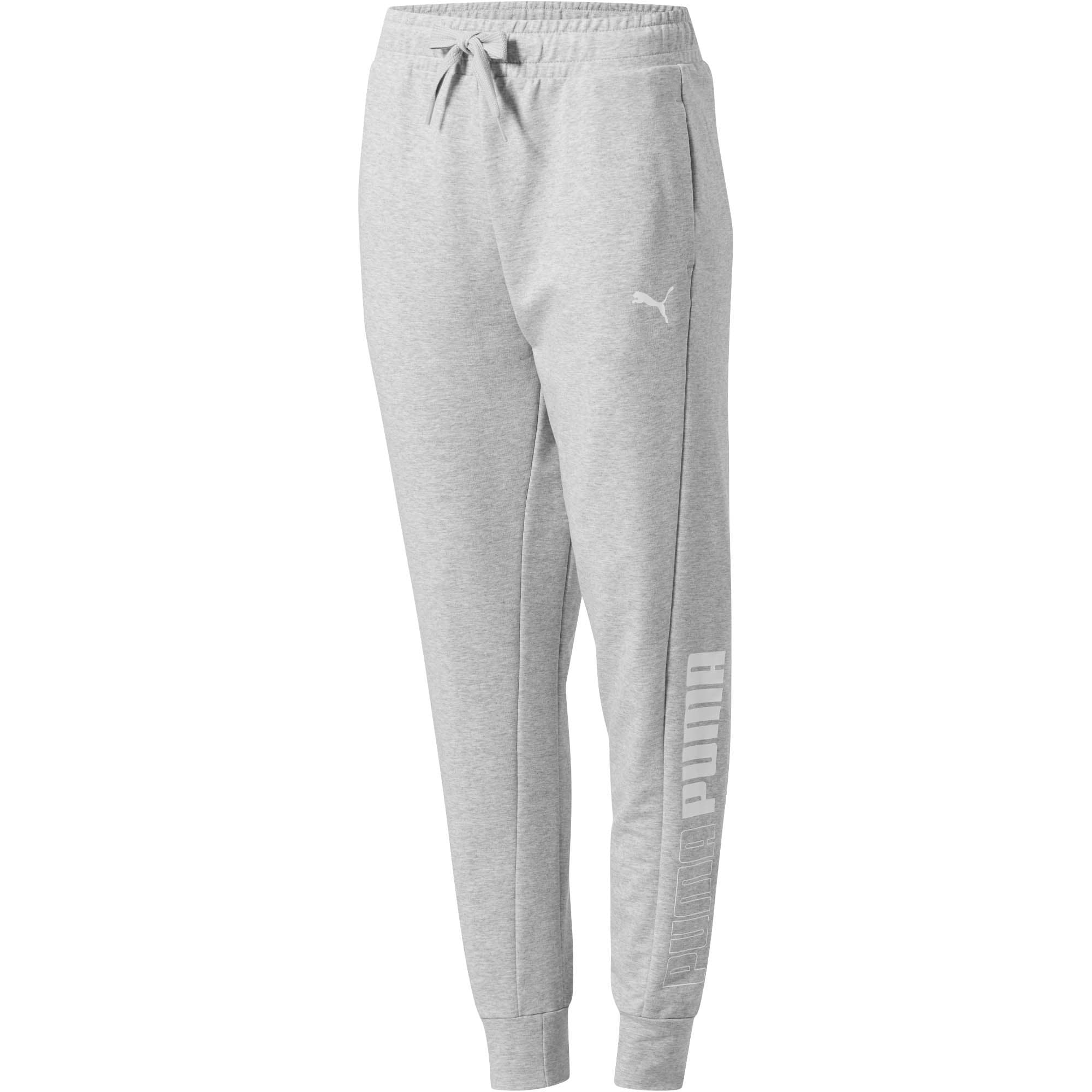 Thumbnail 1 of Modern Sports Women's Track Pants, Light Gray Heather, medium