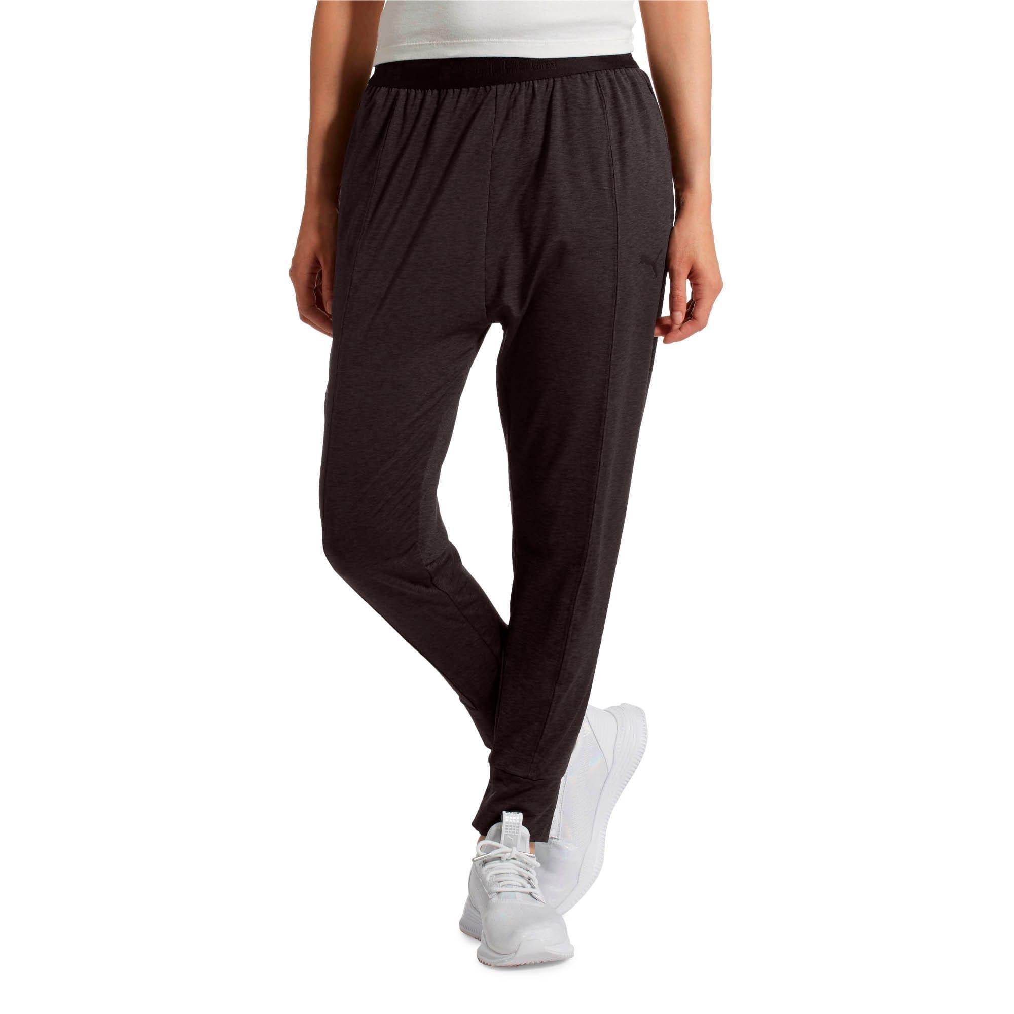 Thumbnail 2 of Soft Sport Women's Sweatpants, Puma Black-heather, medium
