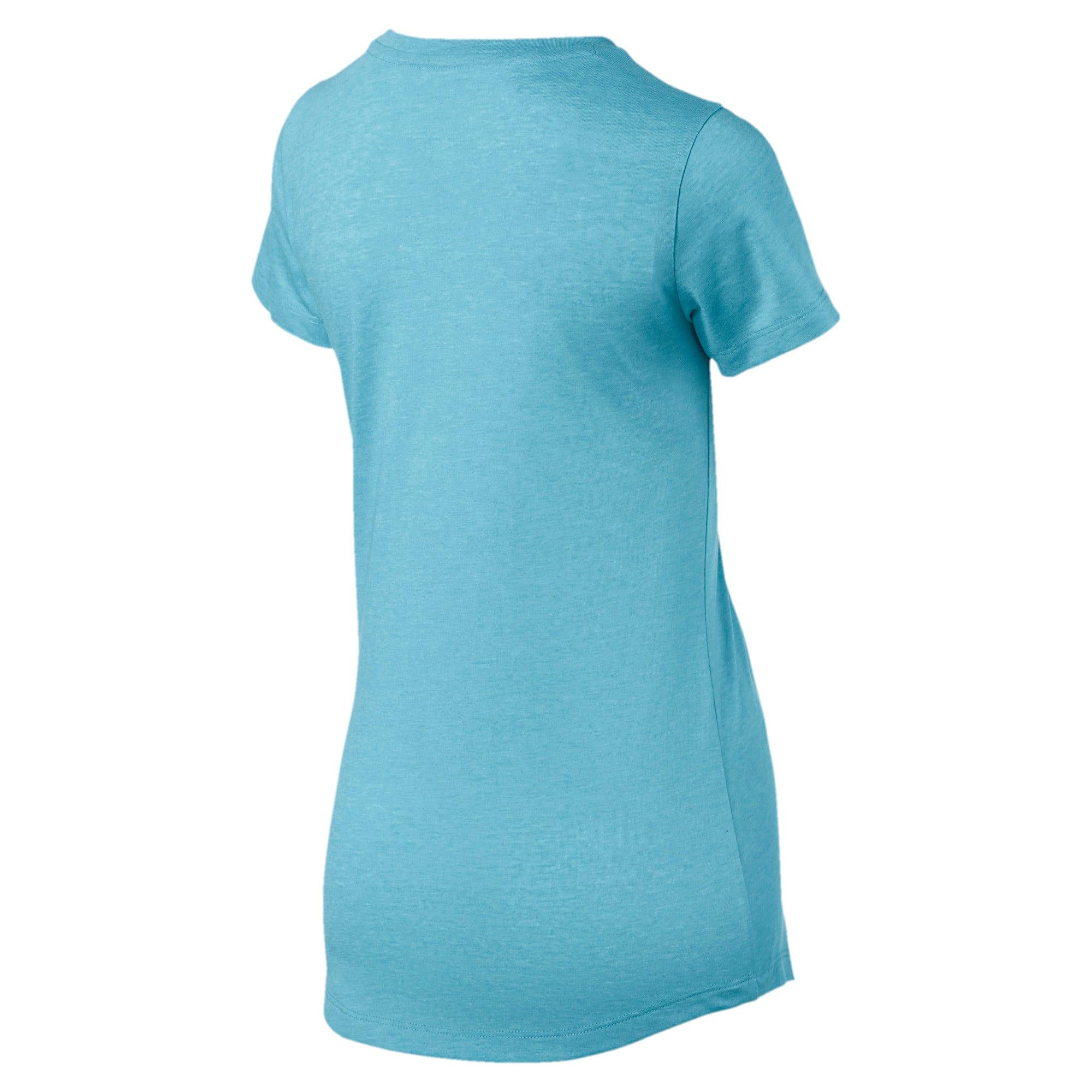 Miniatura 5 de Camsieta Essentials + Heather de mujer, Milky Blue, mediano