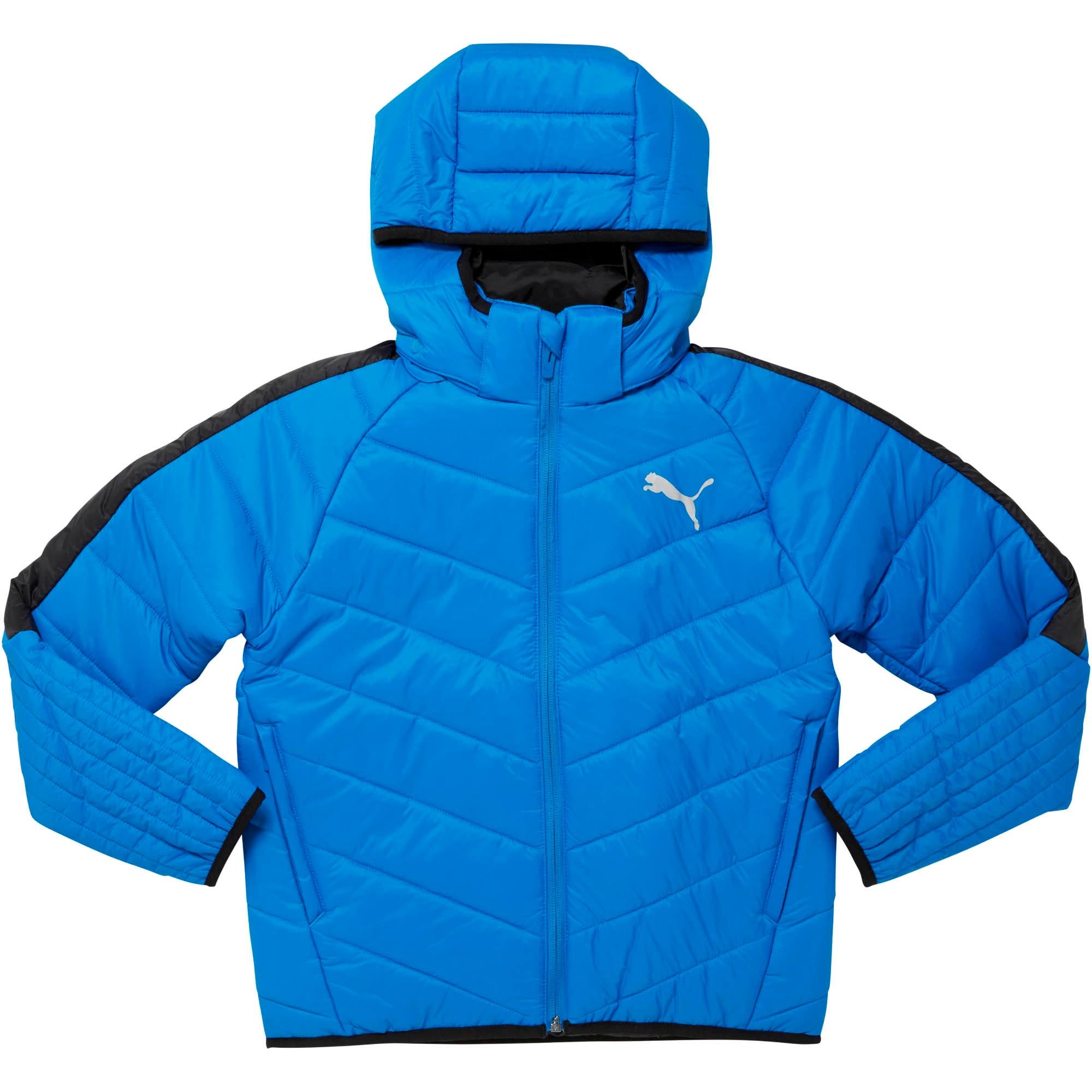 Thumbnail 1 of Boys' Active Jacket JR, Strong Blue, medium