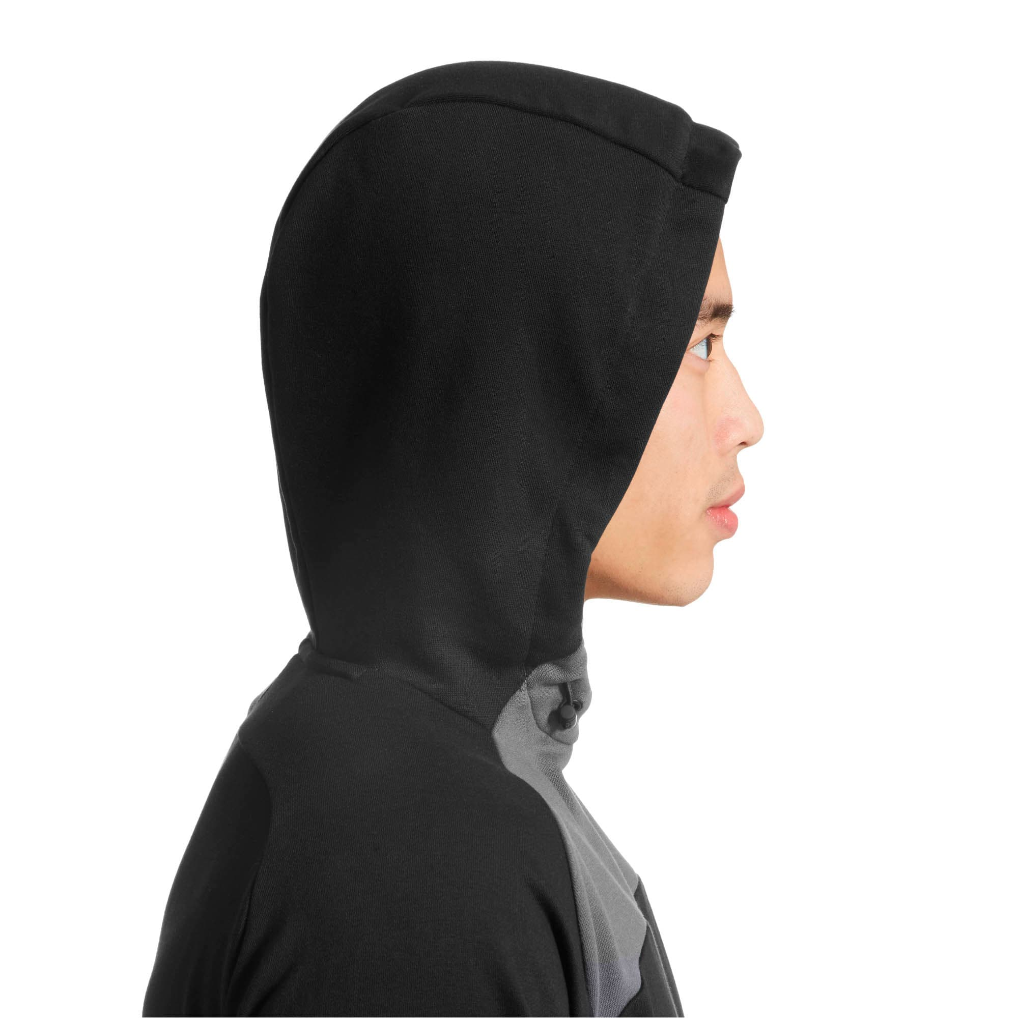 Thumbnail 3 of Modern Sports Hoodie, Cotton Black, medium