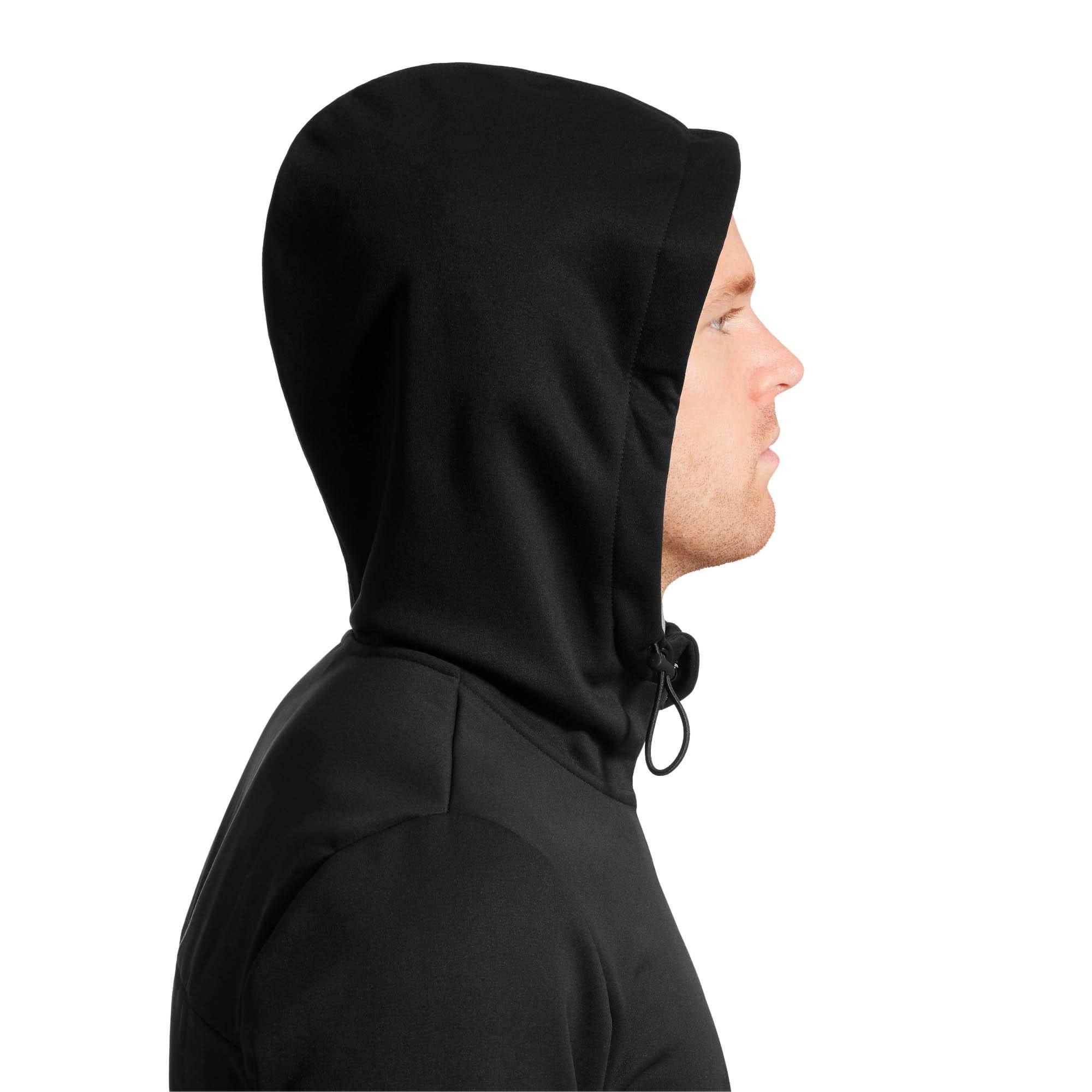 Thumbnail 3 of Tec Sports Warm Full-Zip Hoodie, Puma Black, medium