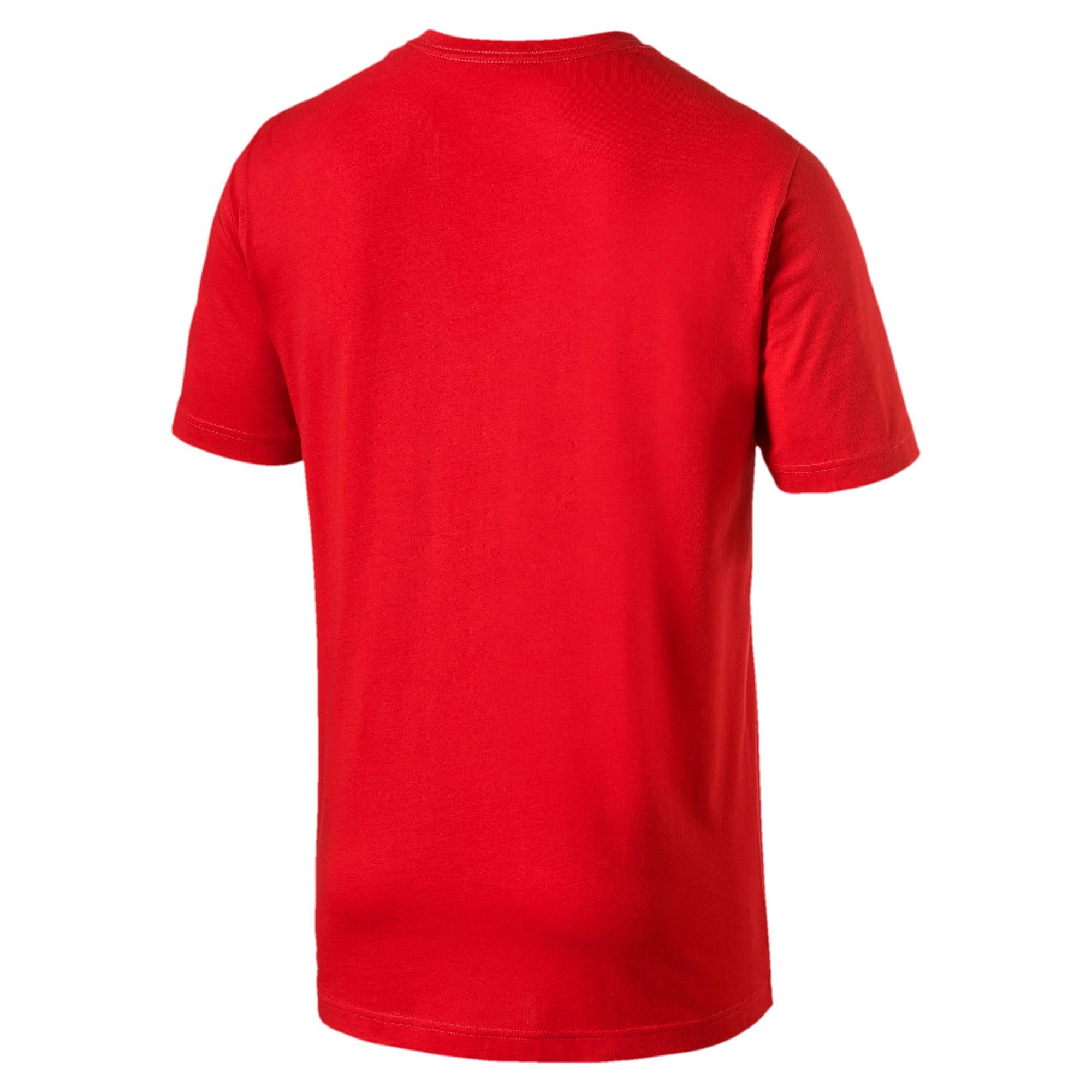 Miniatura 2 de Camiseta Essentials+con cuello en V para hombre, High Risk Red, mediano