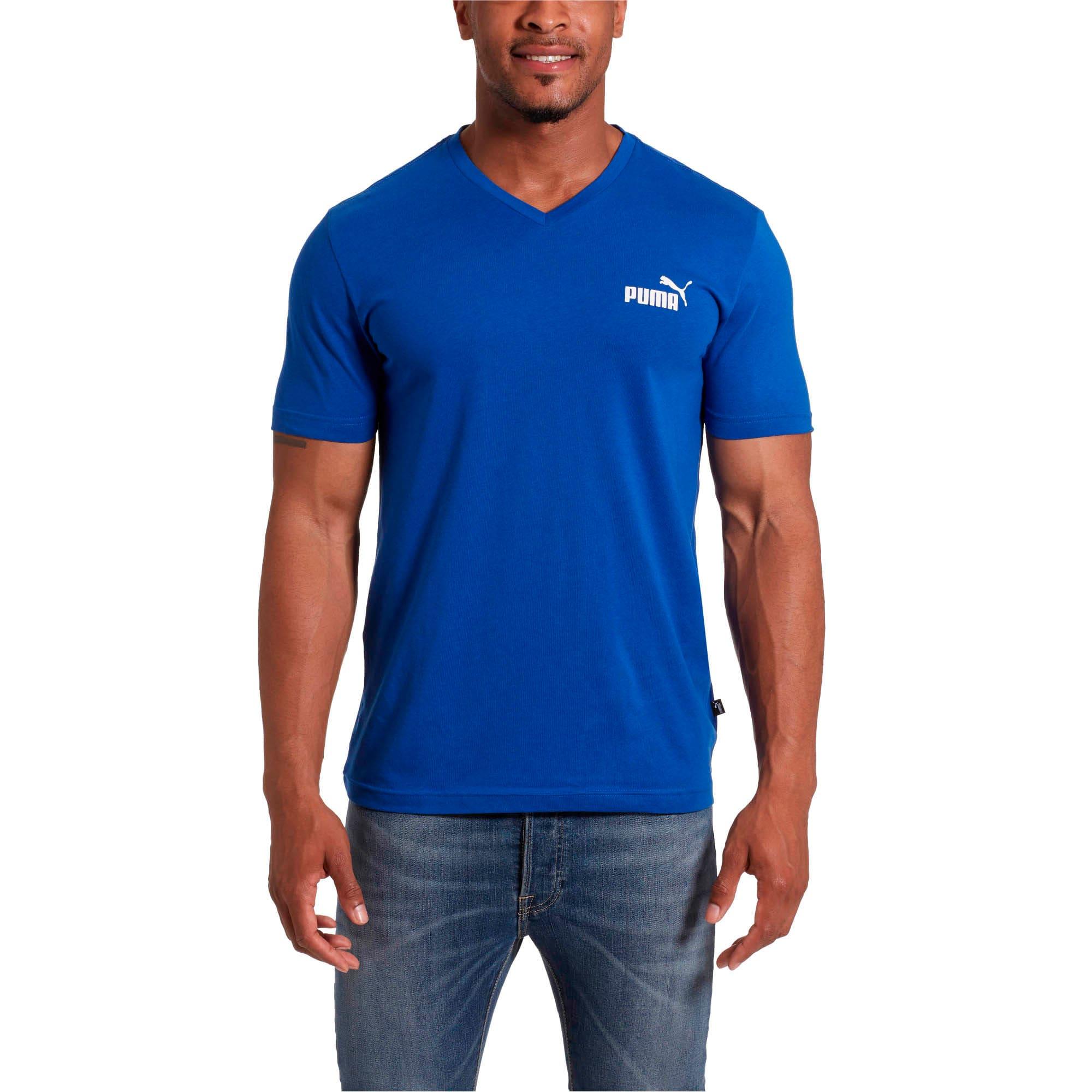 Miniatura 2 de Camiseta Essentials+con cuello en V para hombre, Navegar en Internet, mediano