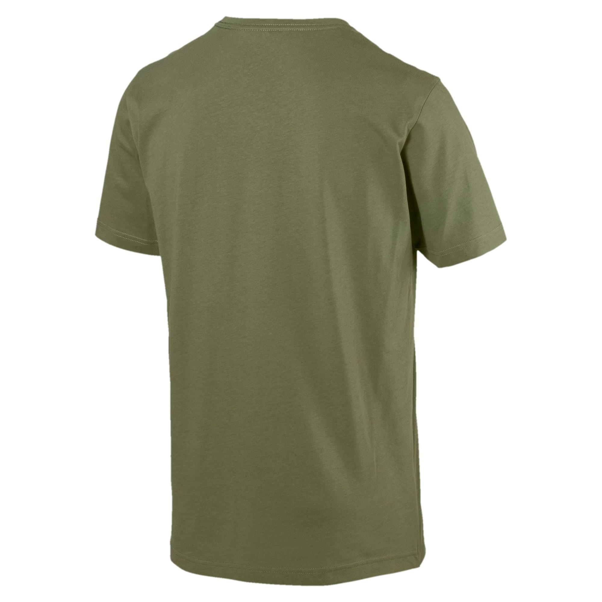 Miniatura 3 de Camiseta Essentials+con cuello en V para hombre, Olivine, mediano