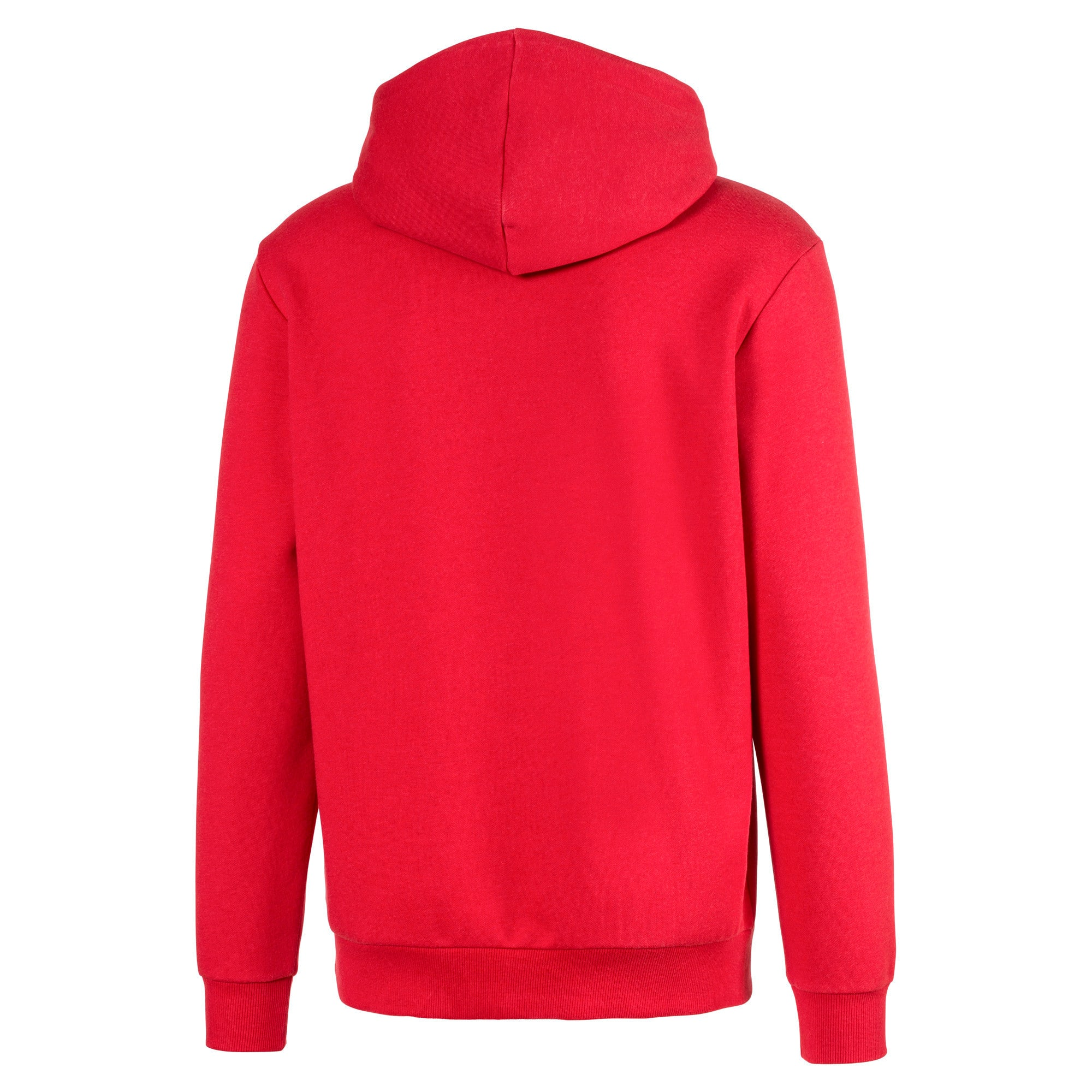 Thumbnail 5 of Essentials Fleece Men's Hoodie, High Risk Red Heather, medium