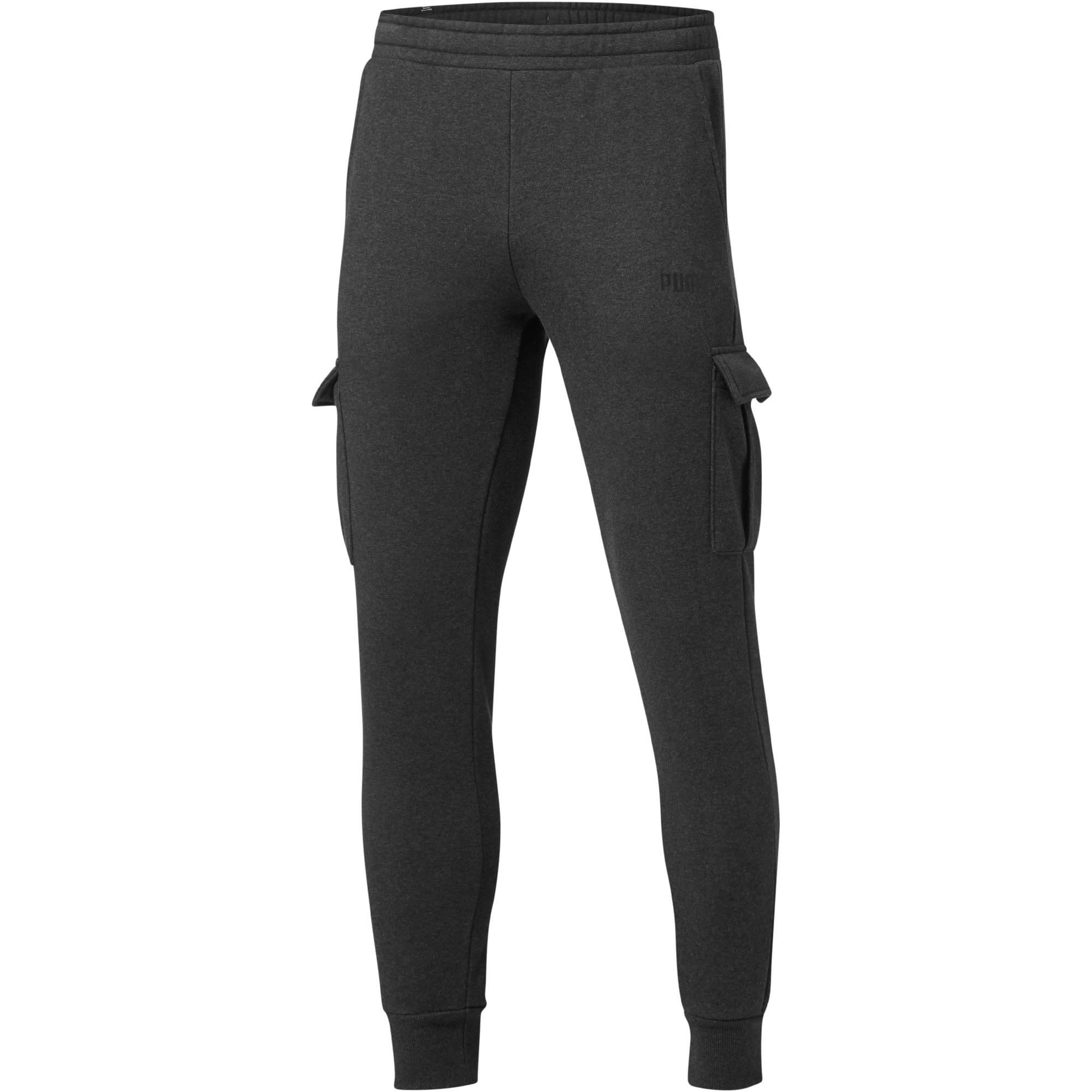 Miniatura 1 de Pantalones Essentials+ con bolsillos para hombre, Dark Gray Heather, mediano
