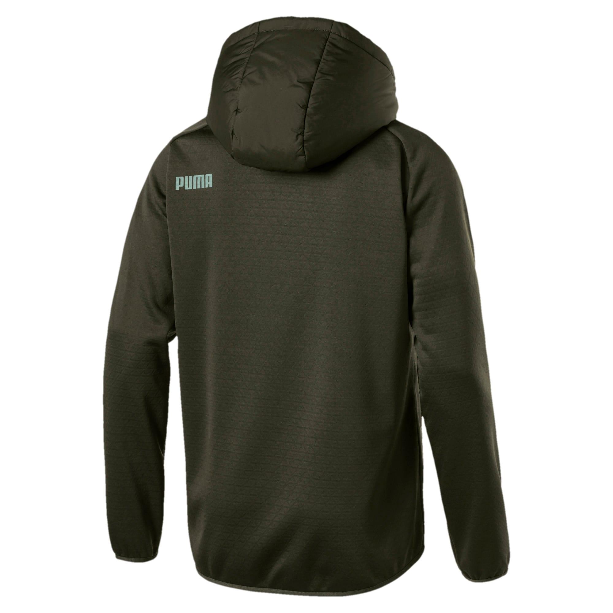 Thumbnail 3 of Hybrid Men's Padded Jacket, Forest Night, medium