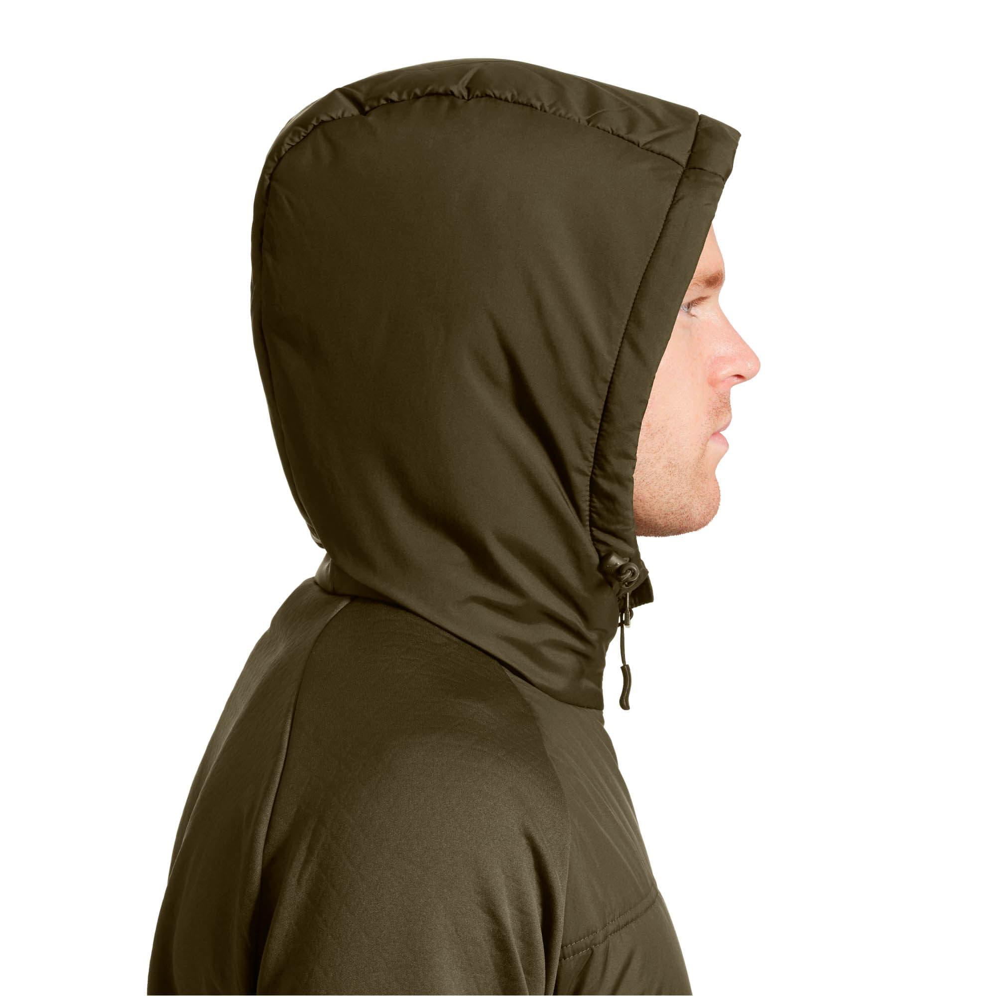 Thumbnail 4 of Hybrid Men's Padded Jacket, Forest Night, medium