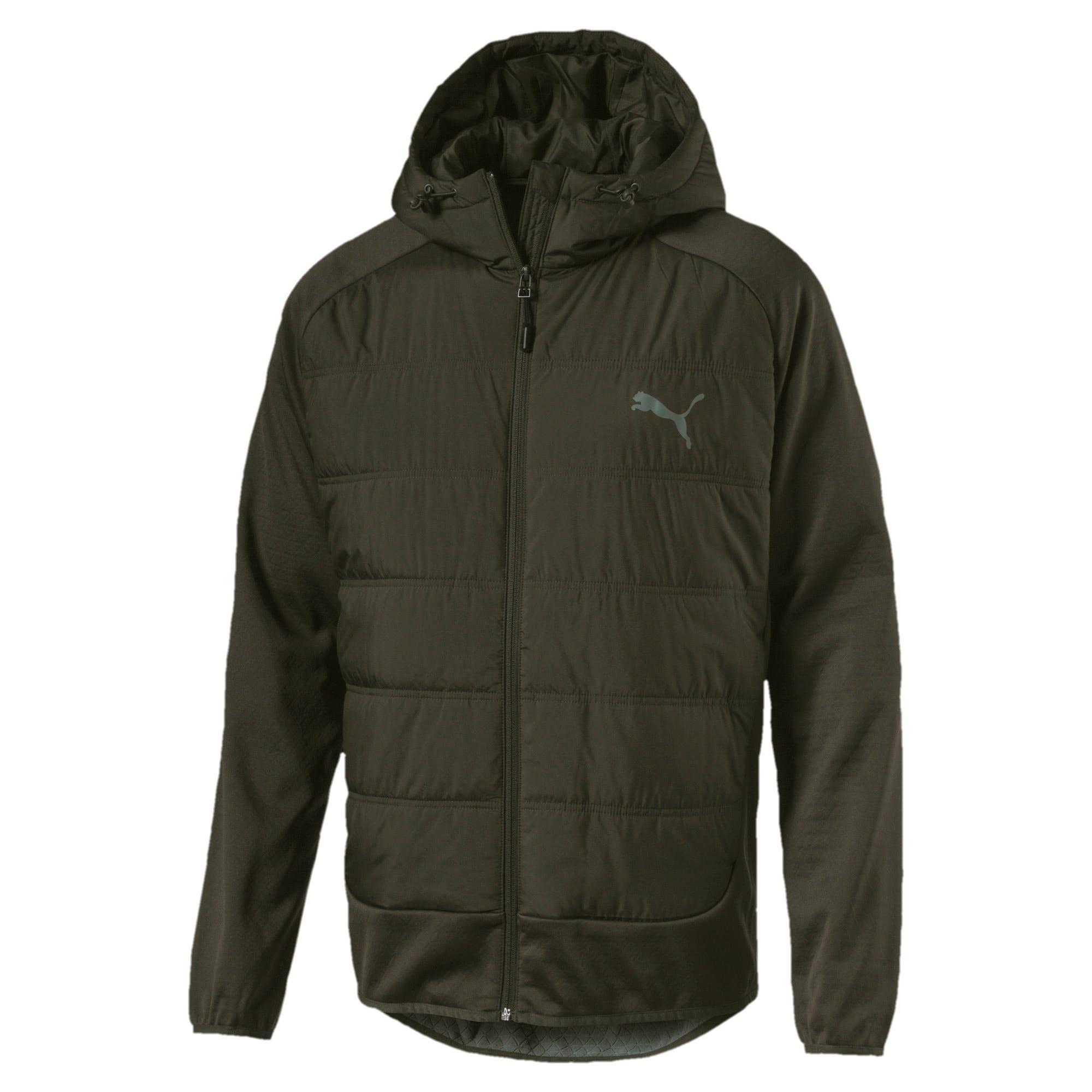 Thumbnail 1 of Hybrid Men's Padded Jacket, Forest Night, medium