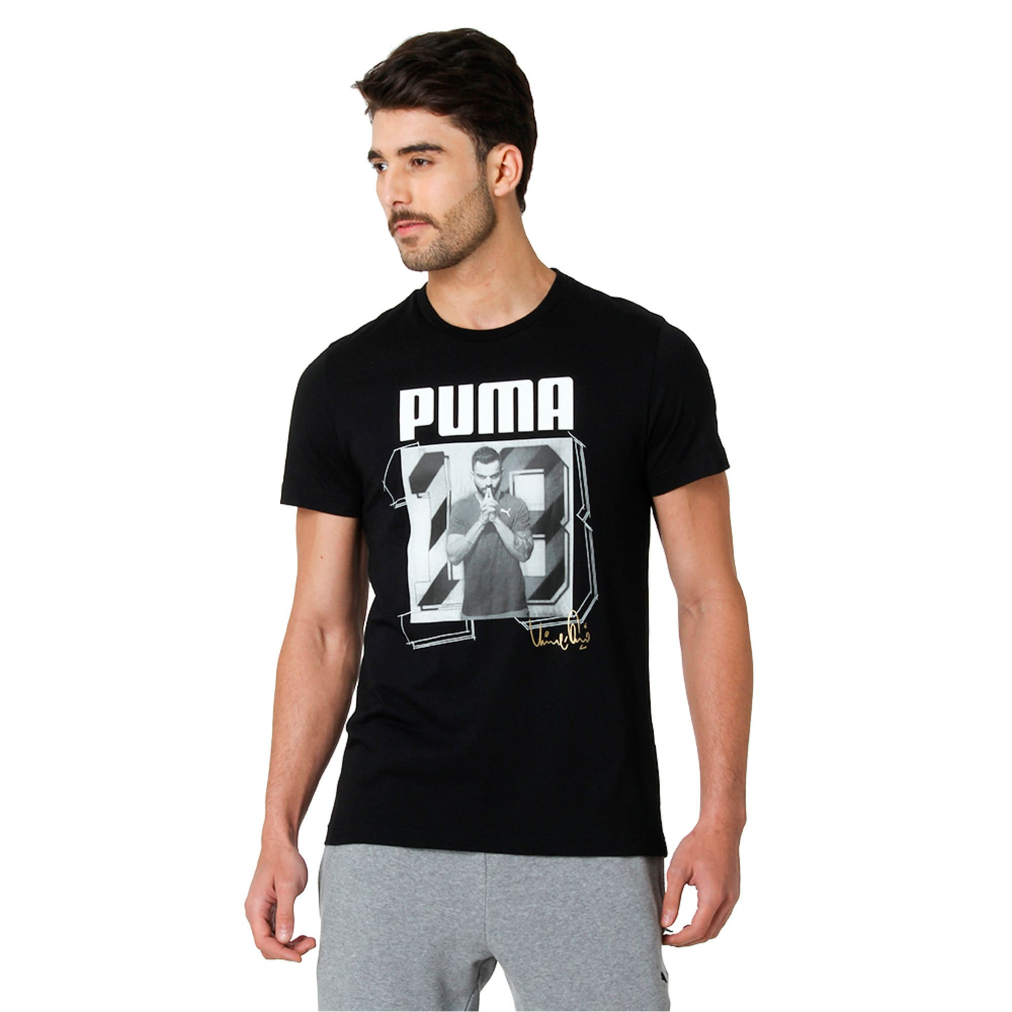 Thumbnail 3 of VK Tee, Puma Black, medium-IND