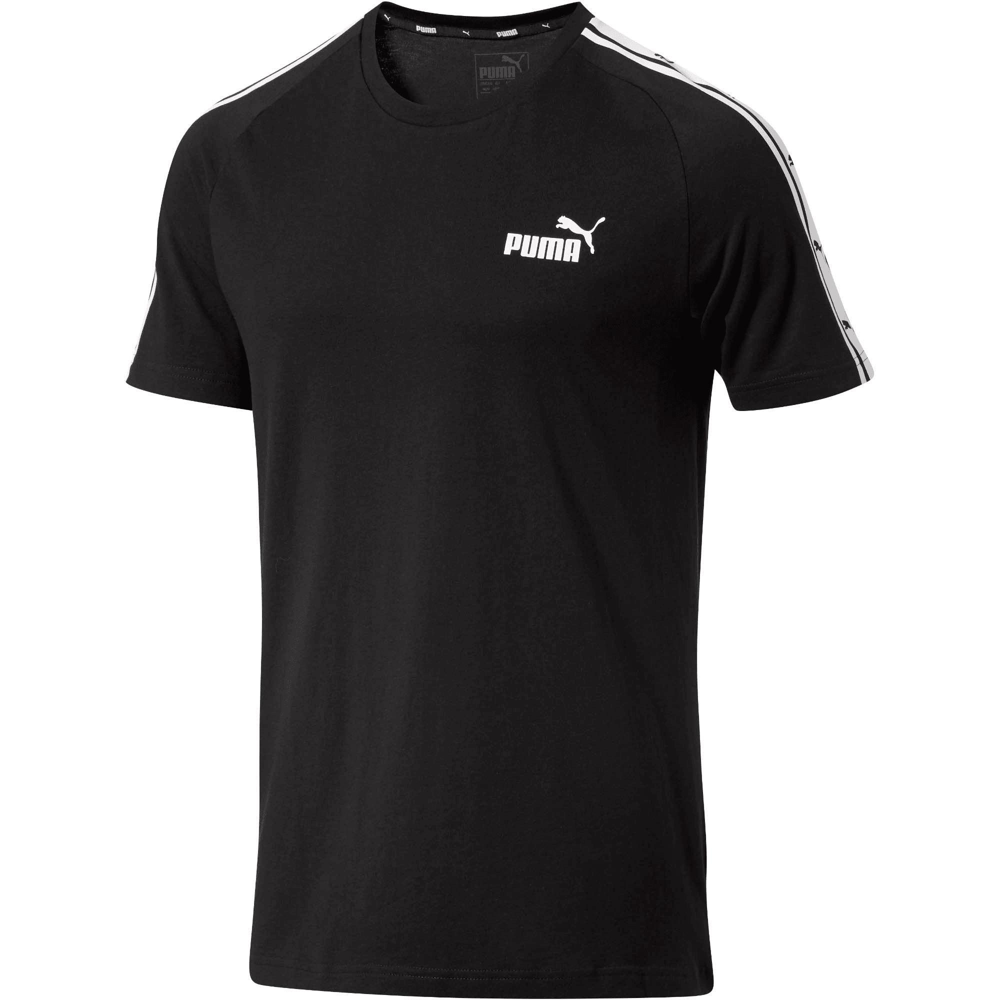 Thumbnail 1 of Men's Heritage Tape T-Shirt, Cotton Black, medium