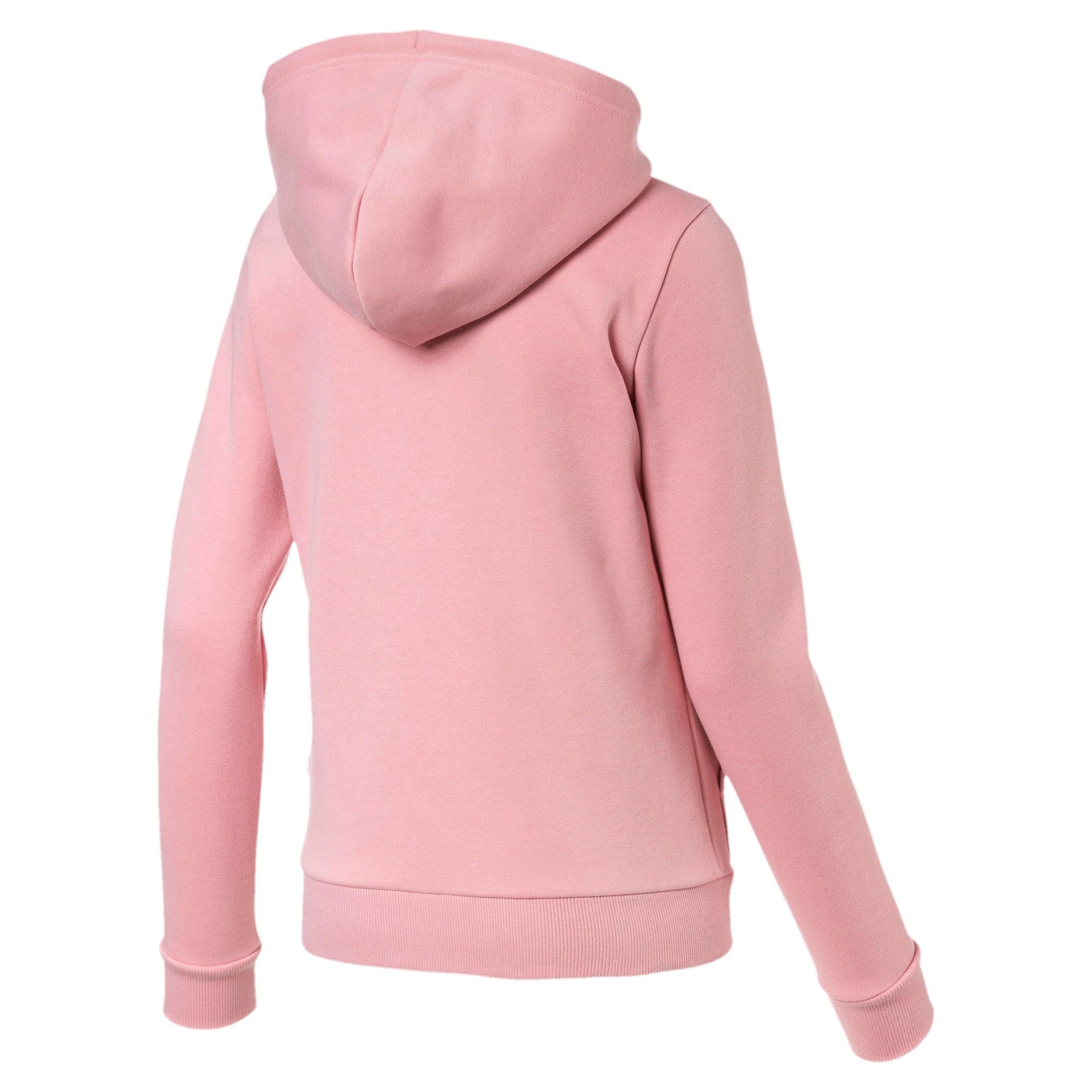 Thumbnail 5 of Essentials Women's Hooded Fleece Jacket, Bridal Rose, medium