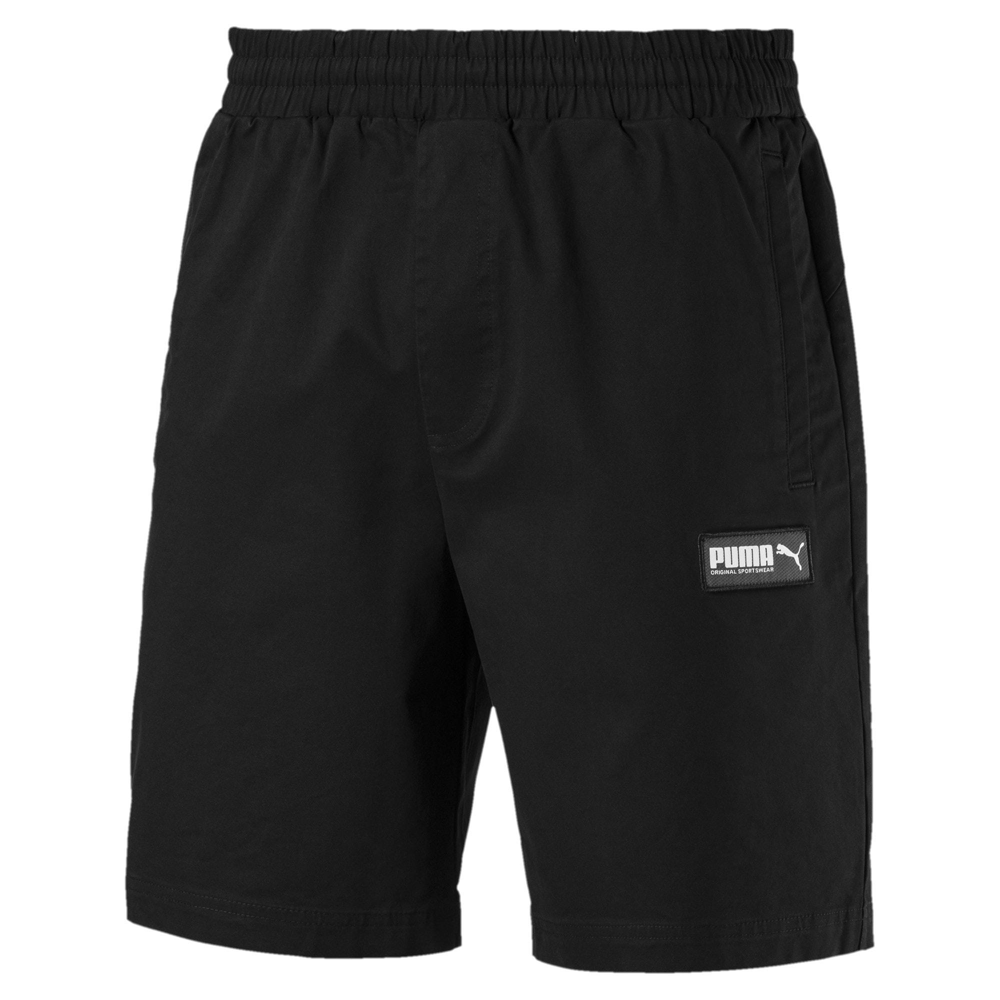 Miniatura 4 de Shorts Fusion para hombre, Puma Black, mediano