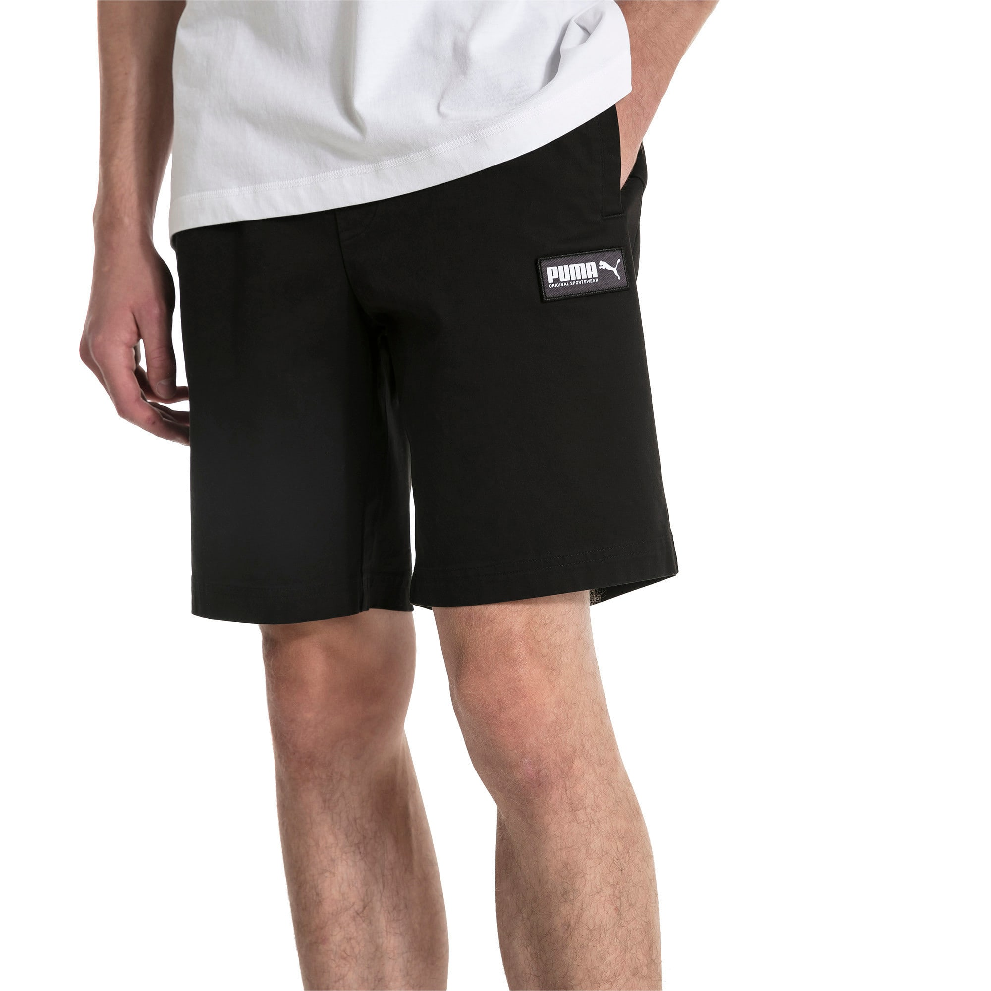 Thumbnail 1 of Fusion Men's Shorts, Puma Black, medium