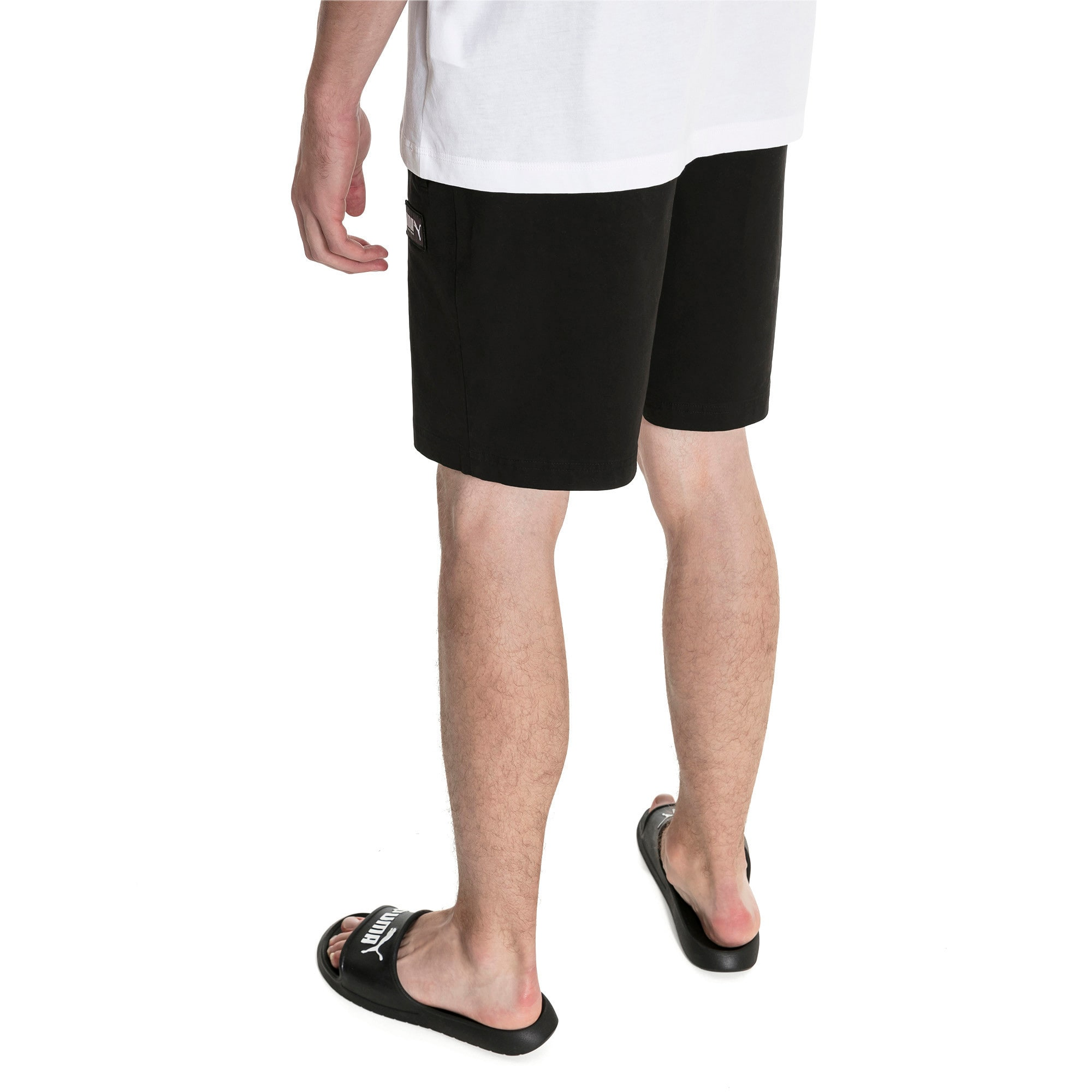 Miniatura 2 de Shorts Fusion para hombre, Puma Black, mediano
