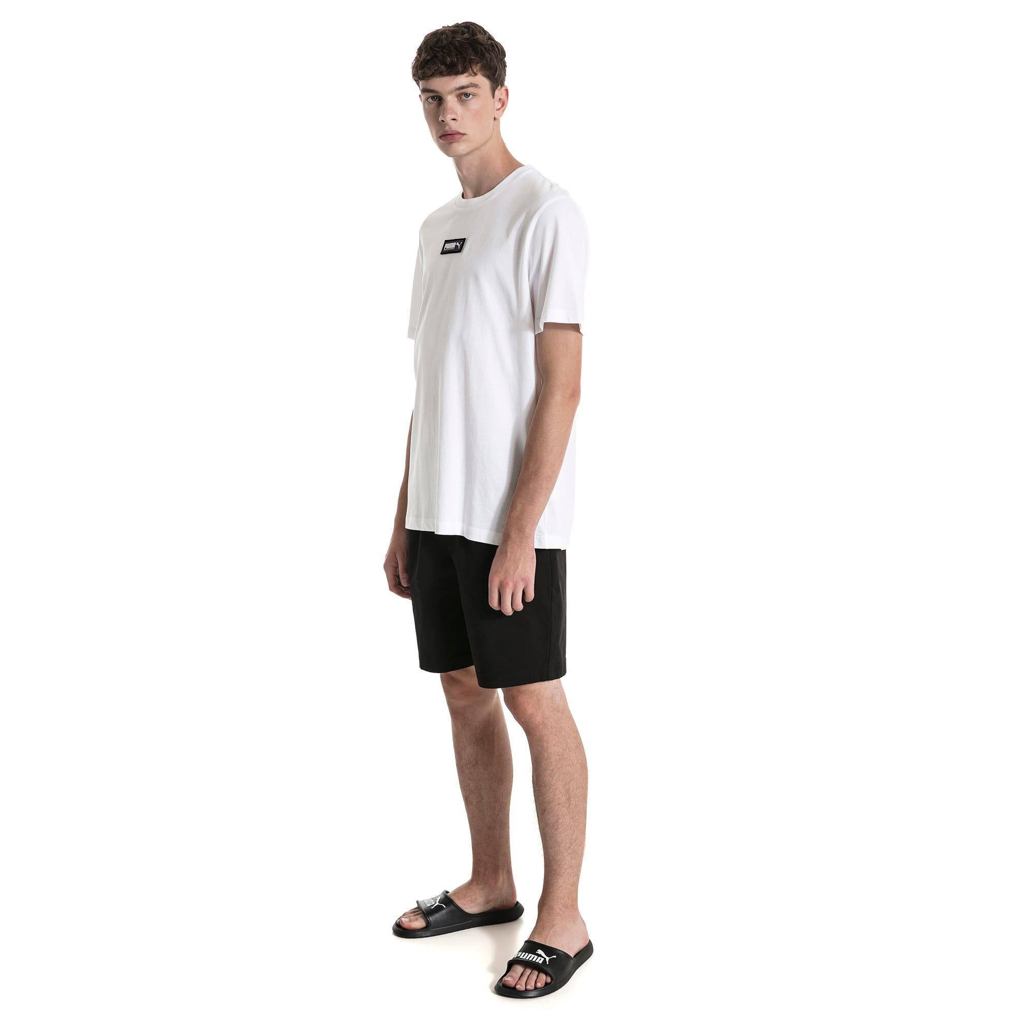 Miniatura 3 de Shorts Fusion para hombre, Puma Black, mediano