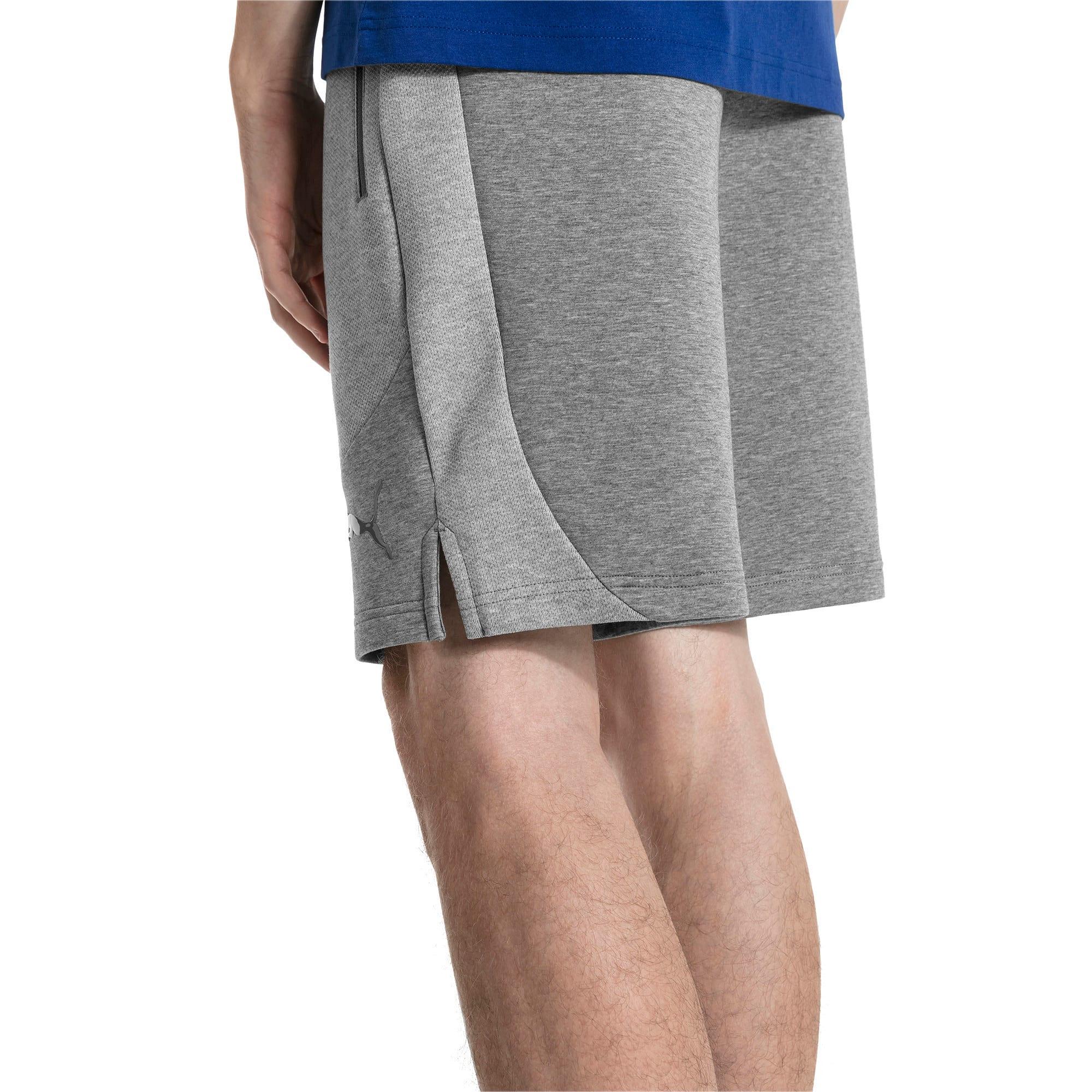 "Thumbnail 2 of Evostripe Move 8"" Men's Shorts, Medium Gray Heather, medium"