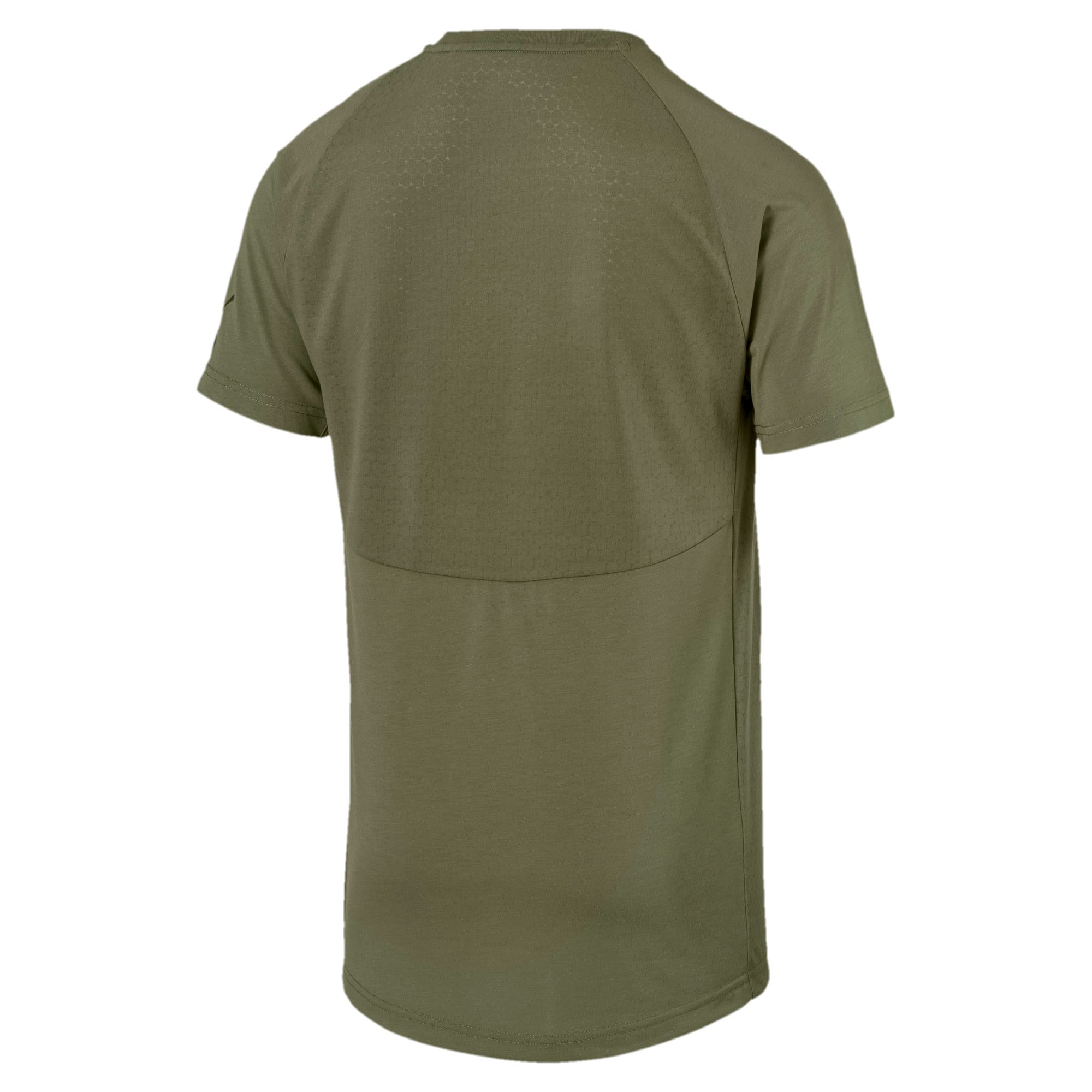 Thumbnail 2 of Evostripe Lite Men's Tee, Olivine, medium