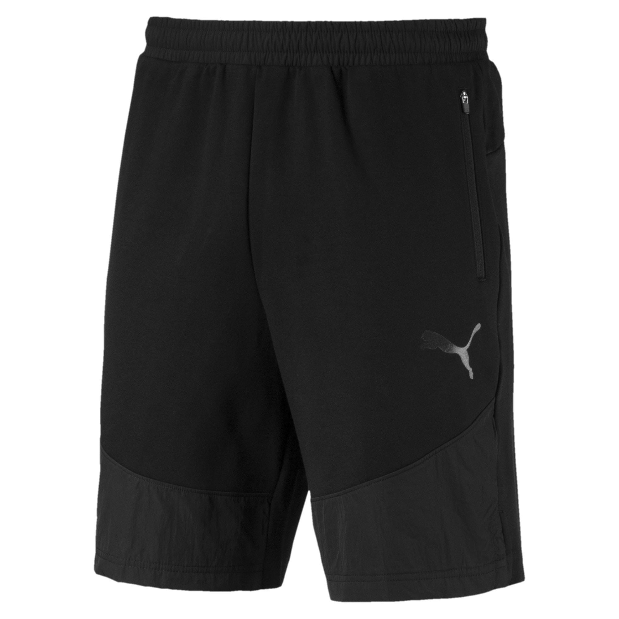Thumbnail 4 of Evostripe Lite Men's Shorts, Puma Black, medium