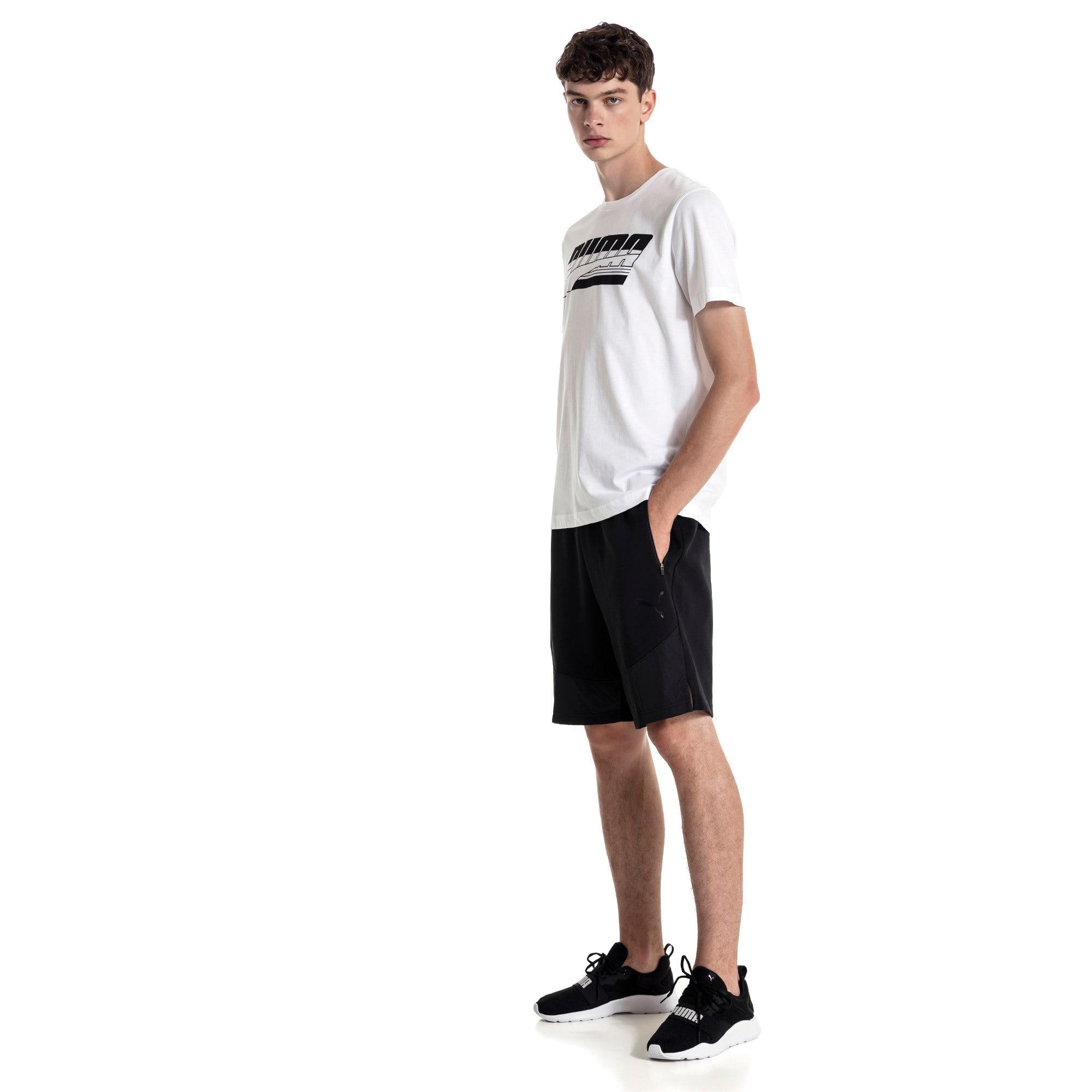 Thumbnail 3 of Evostripe Lite Herren Shorts, Puma Black, medium