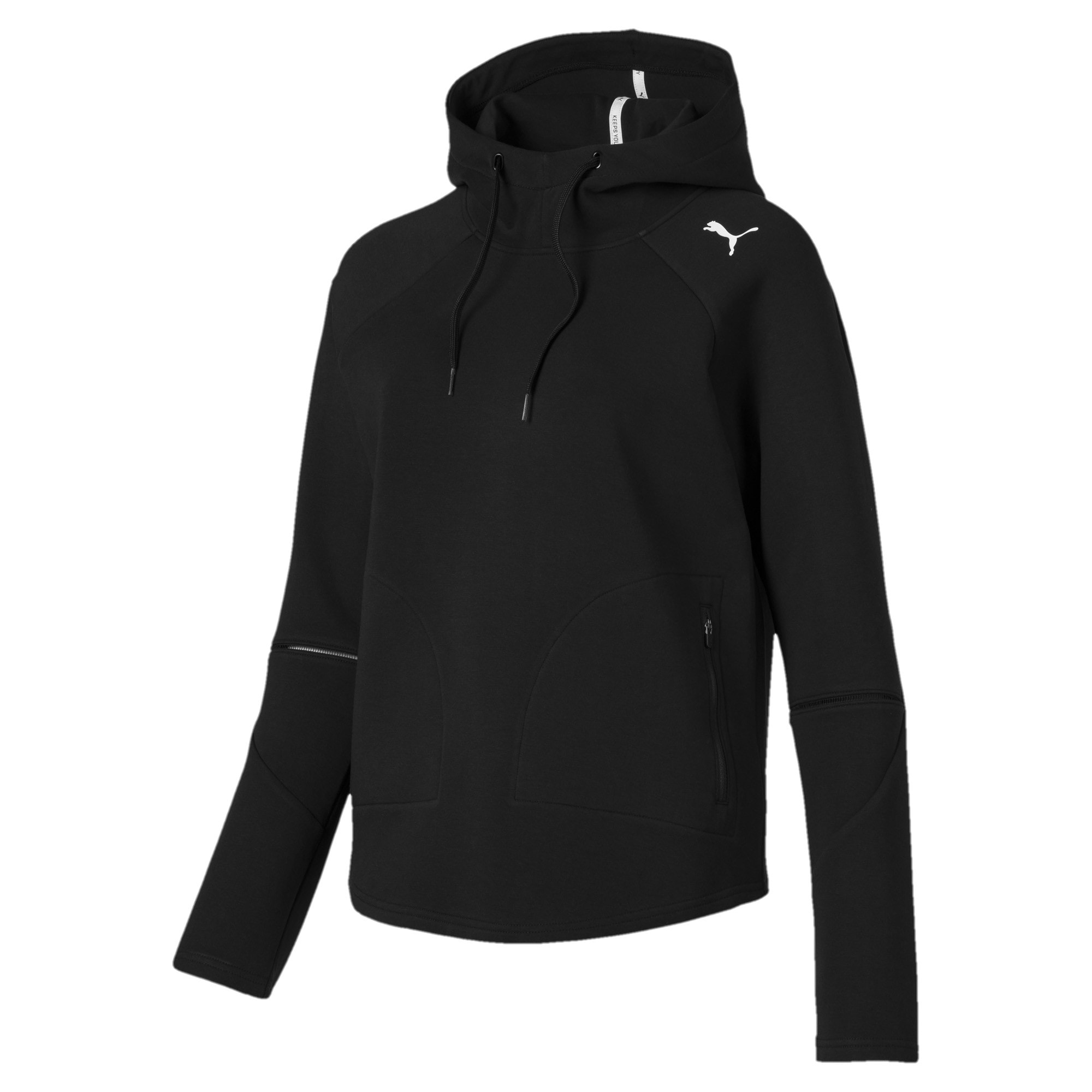 Evostripe Move Women's Hoodie, Puma Black, large