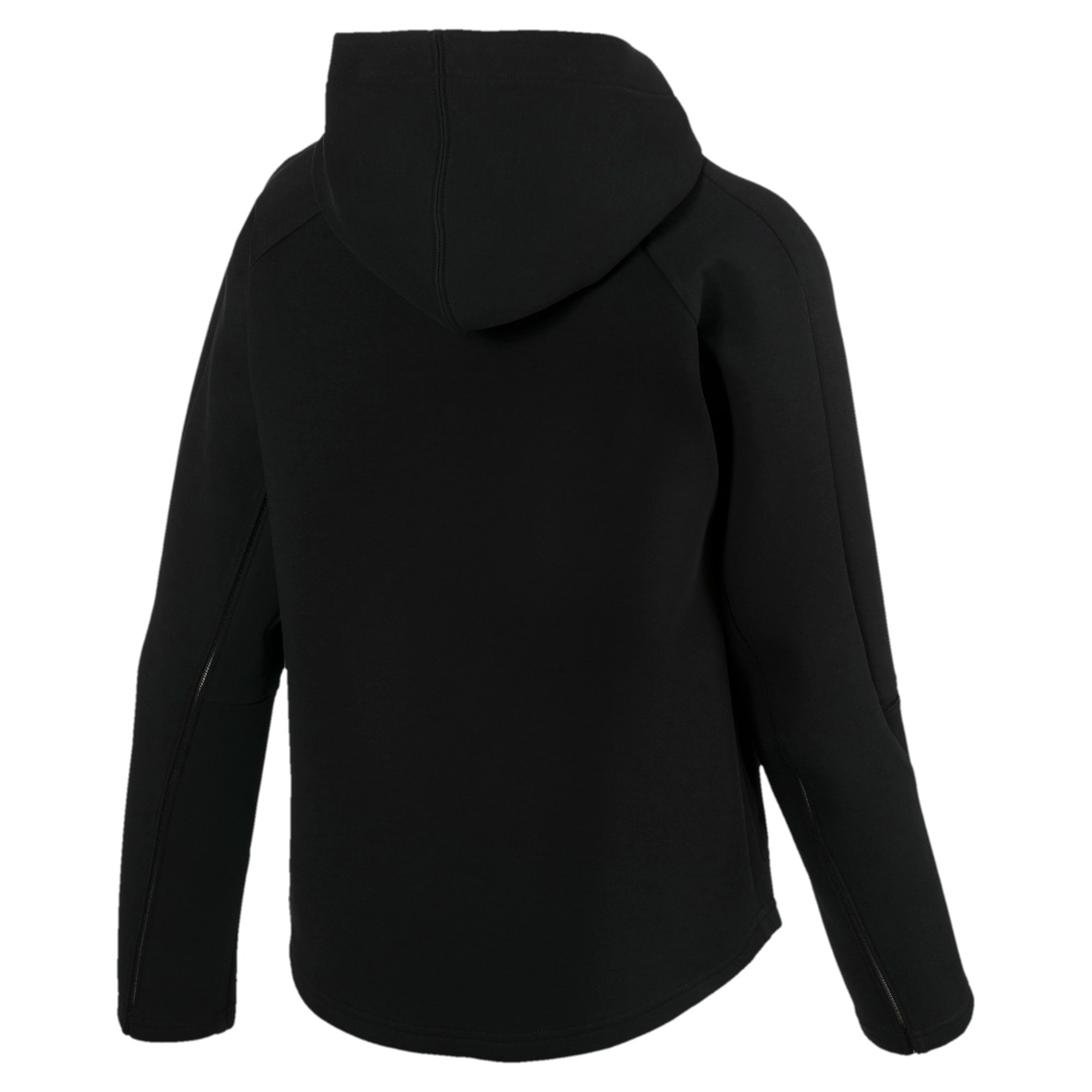 Thumbnail 5 of Evostripe Move Damen Kapuzenjacke, Cotton Black, medium