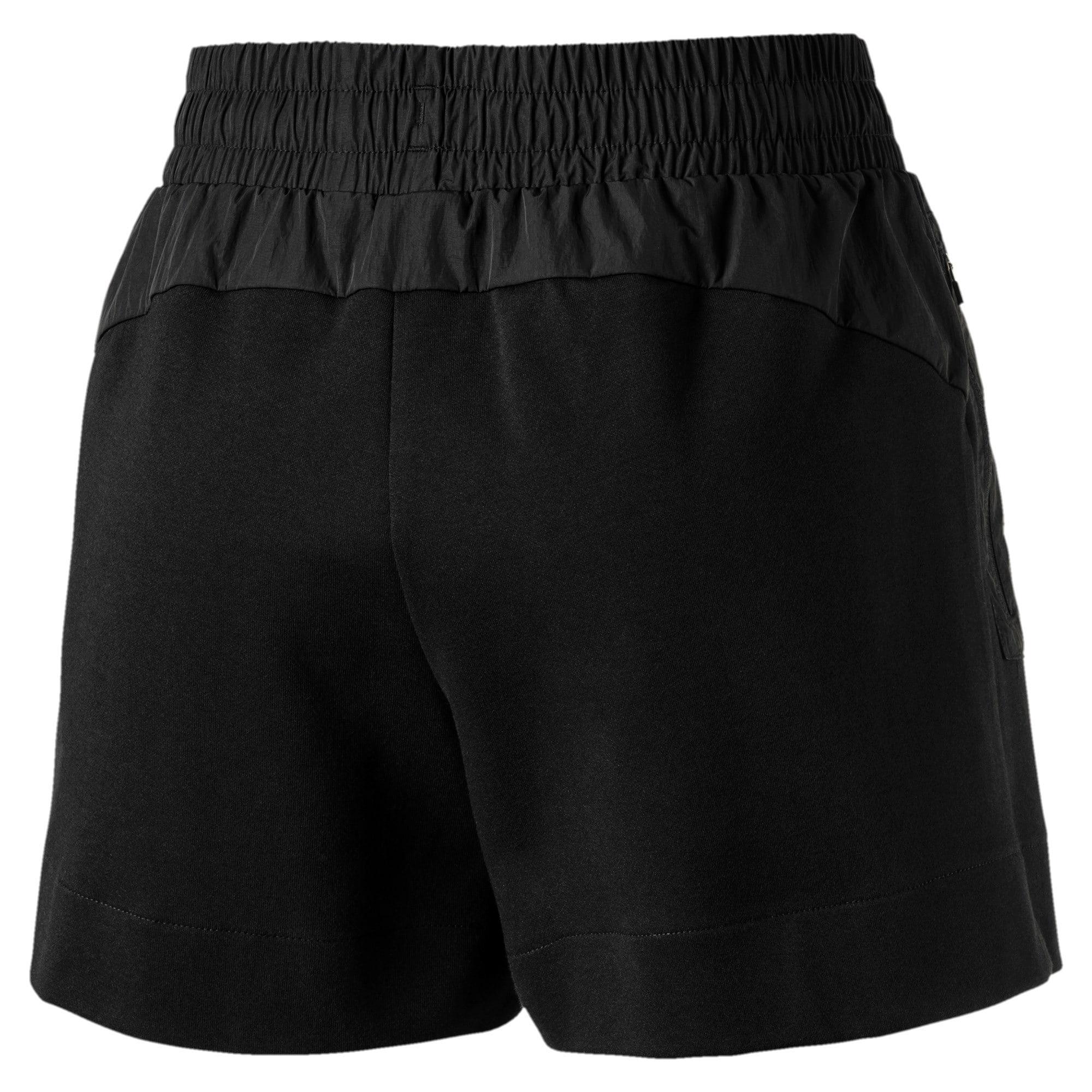 Thumbnail 5 of Evostripe Lite Women's Shorts, Cotton Black, medium