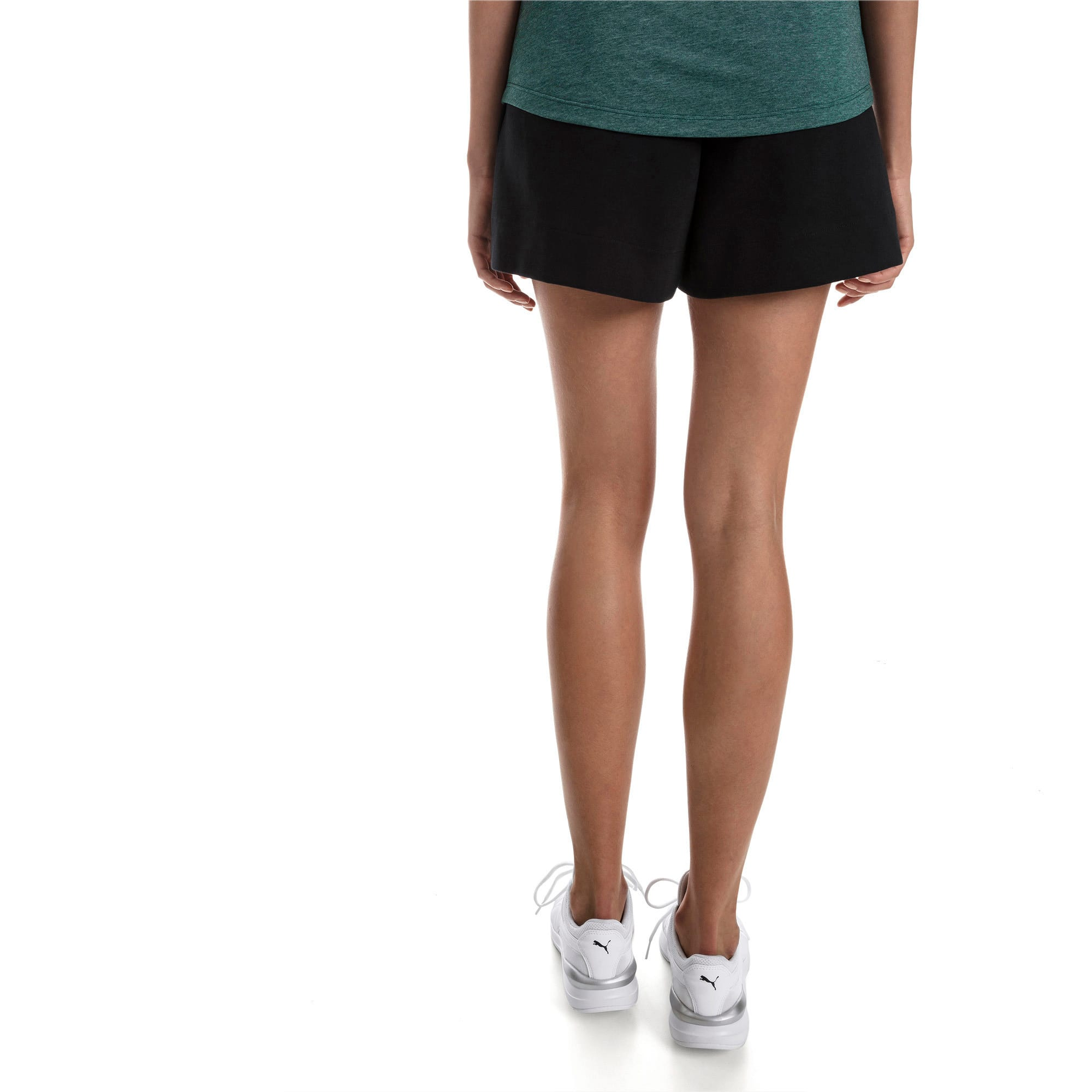 Thumbnail 2 of Evostripe Lite Women's Shorts, Cotton Black, medium