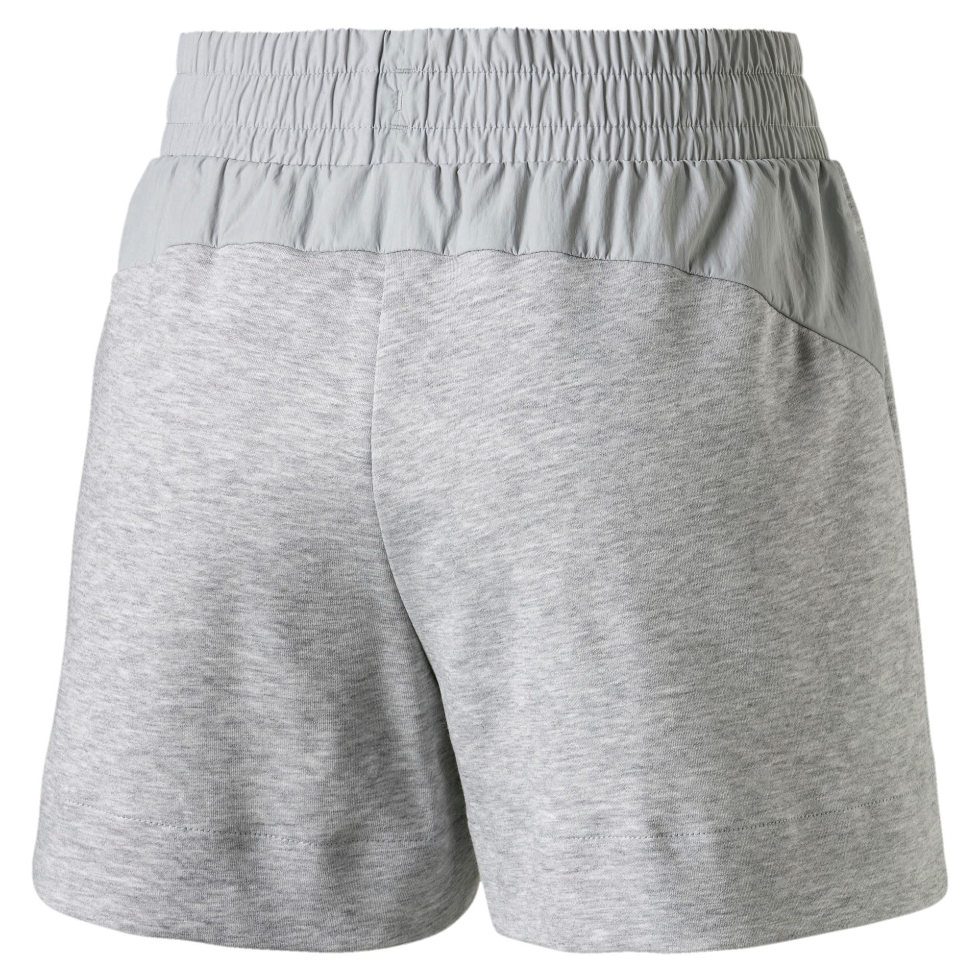 Thumbnail 5 of Evostripe Lite Women's Shorts, Light Gray Heather, medium