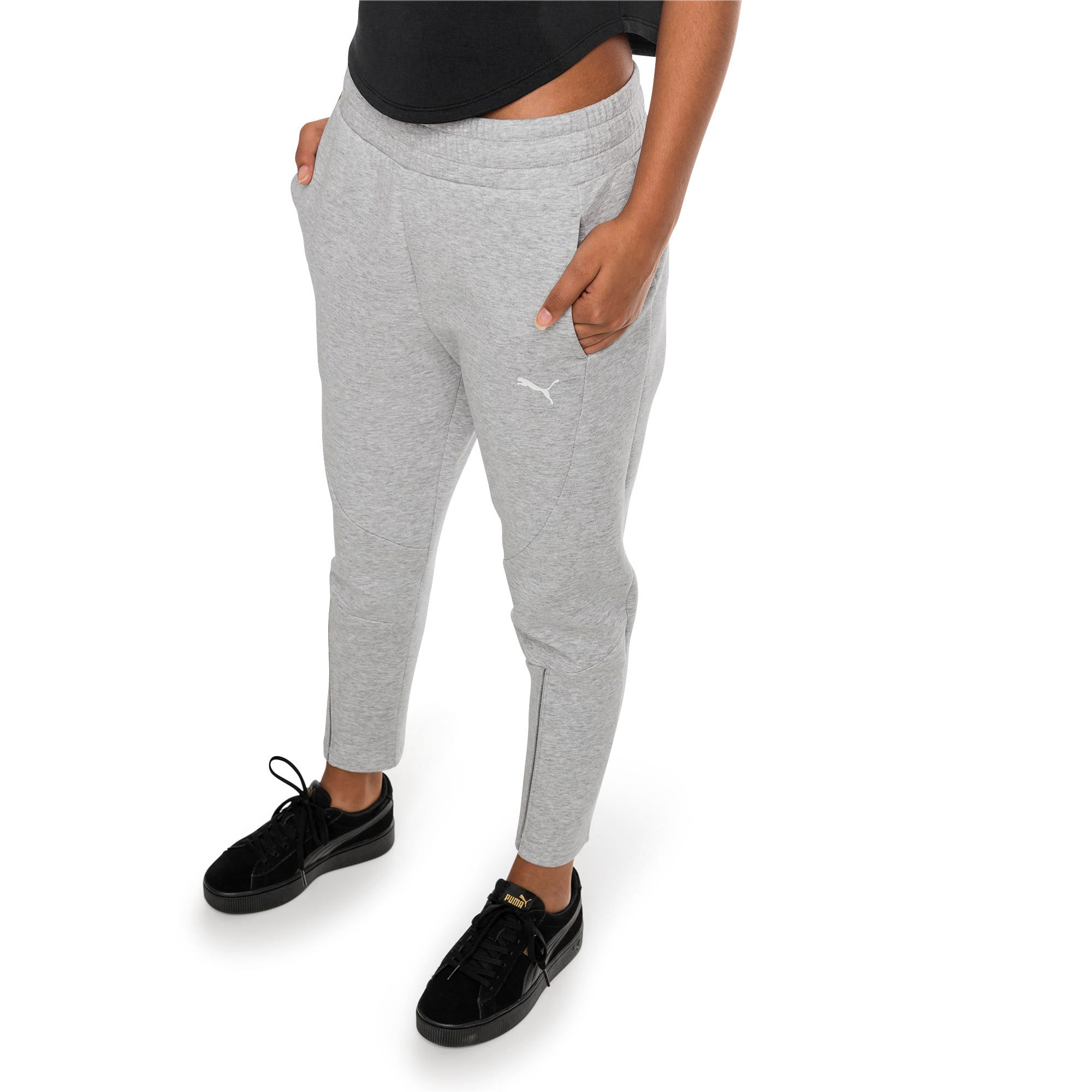 Thumbnail 1 of Pantalon Evostripe Move pour femme, Light Gray Heather, medium