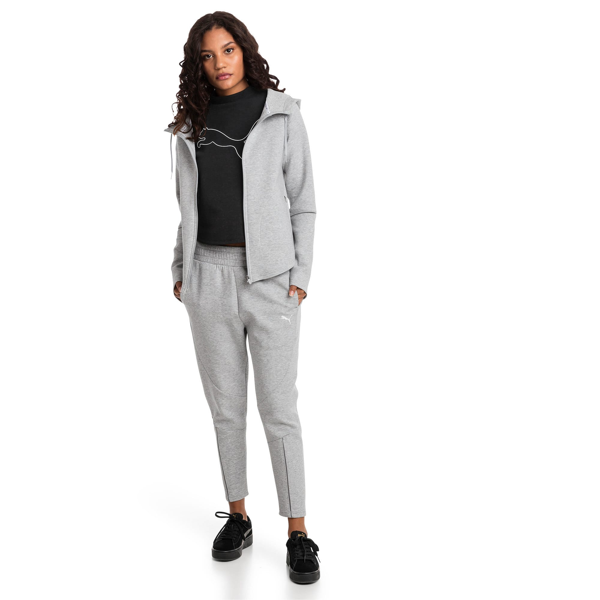 Thumbnail 3 of Pantalon Evostripe Move pour femme, Light Gray Heather, medium