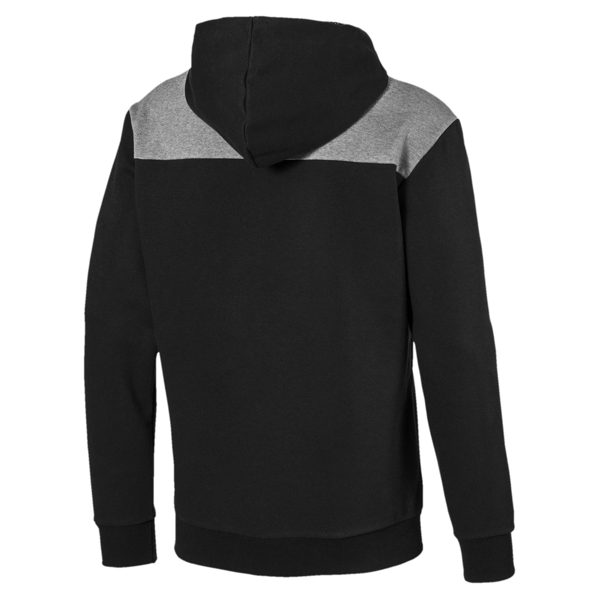 Thumbnail 6 of Modern Sports Men's Fleece Hoodie, Puma Black, medium