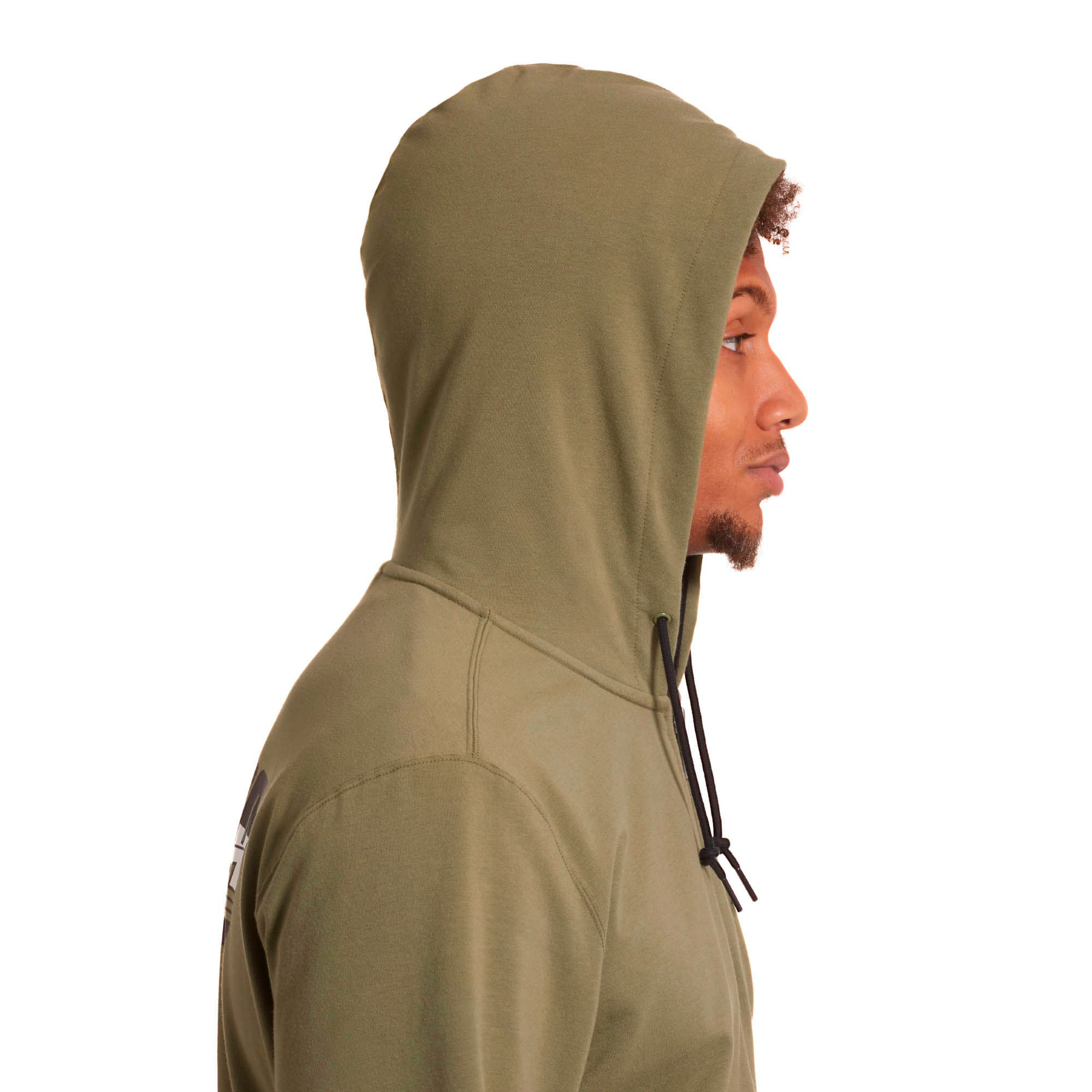 Thumbnail 3 of Rebel Men's Hooded Jacket, Olivine, medium