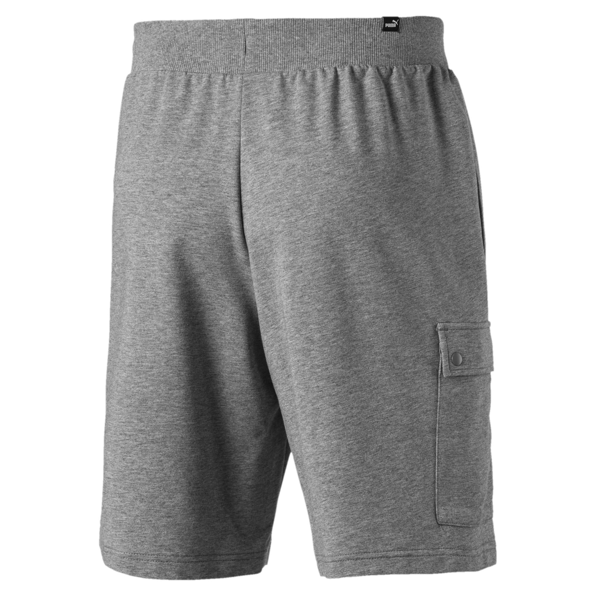 "Thumbnail 3 of Rebel Men's 9"" Shorts, Medium Gray Heather, medium"