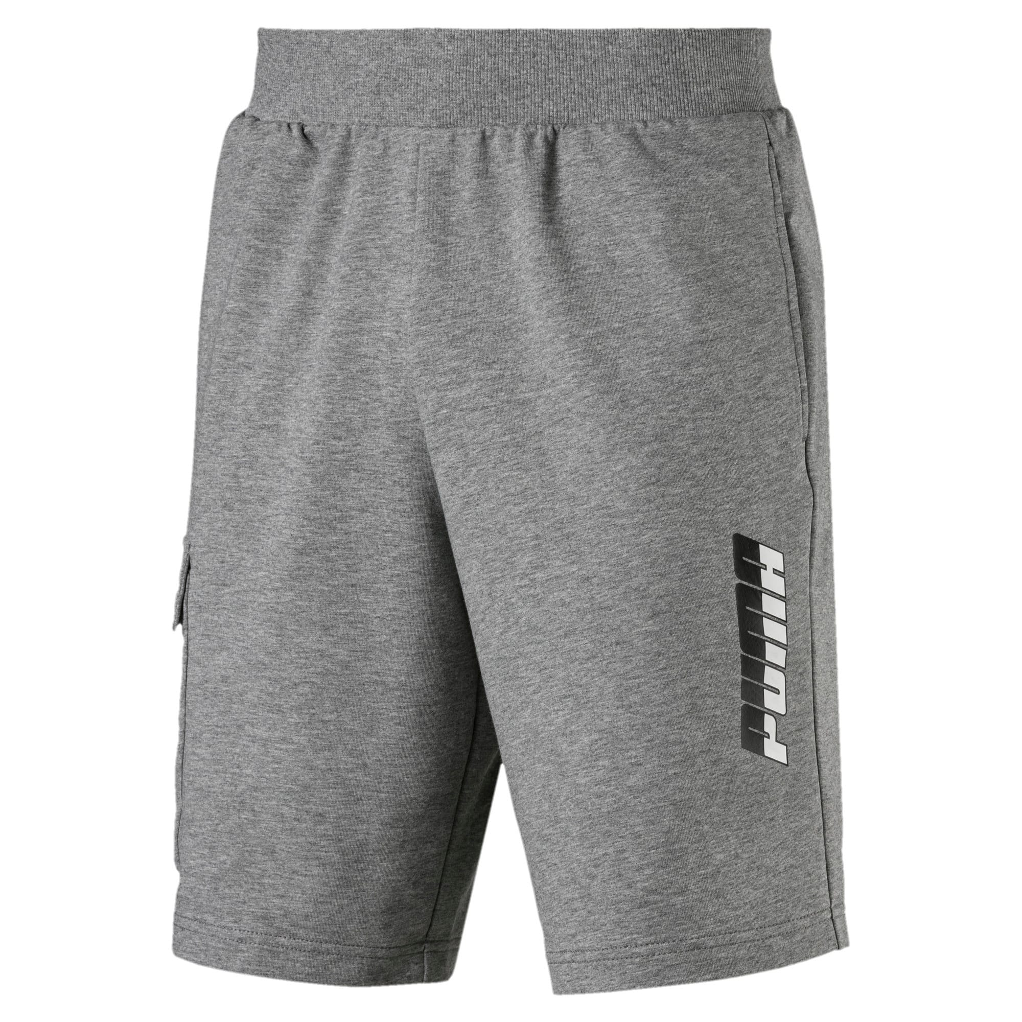 "Thumbnail 1 of Rebel Men's 9"" Shorts, Medium Gray Heather, medium"