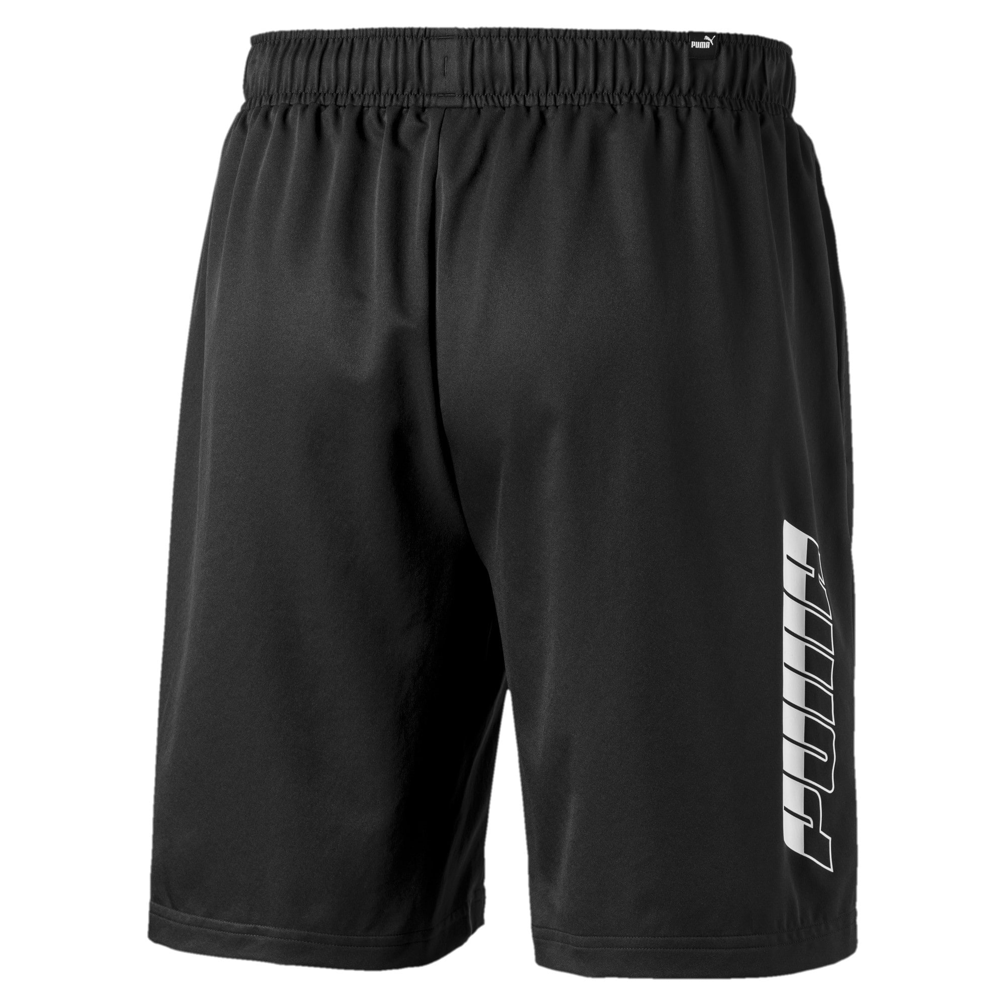 "Thumbnail 2 of Rebel Woven 8"" Men's Shorts, Puma Black, medium"